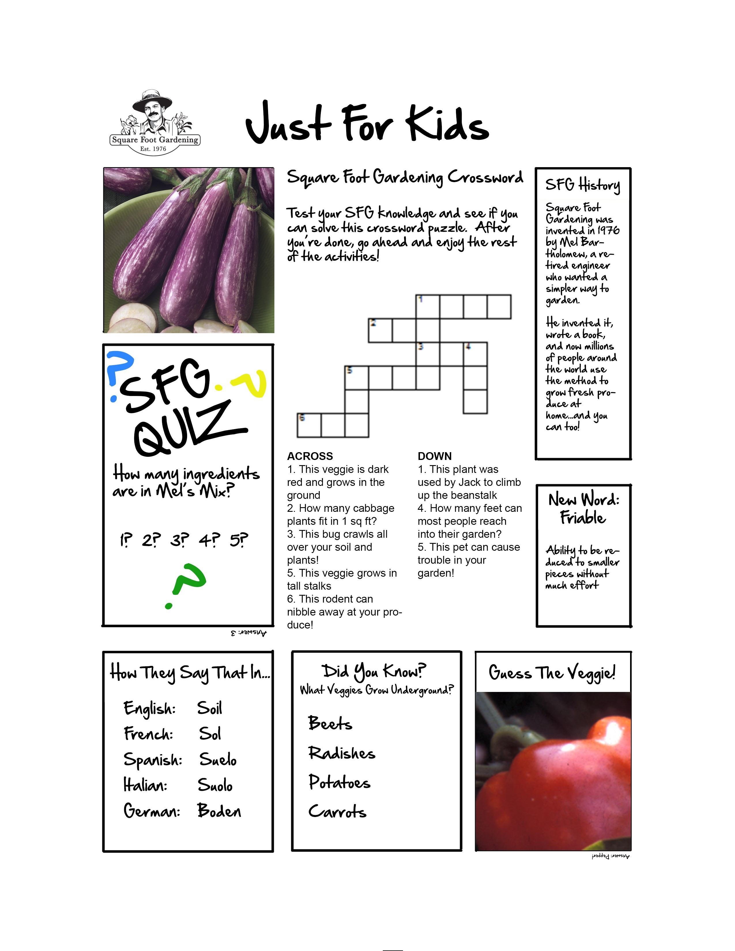 kids activity sheet nice