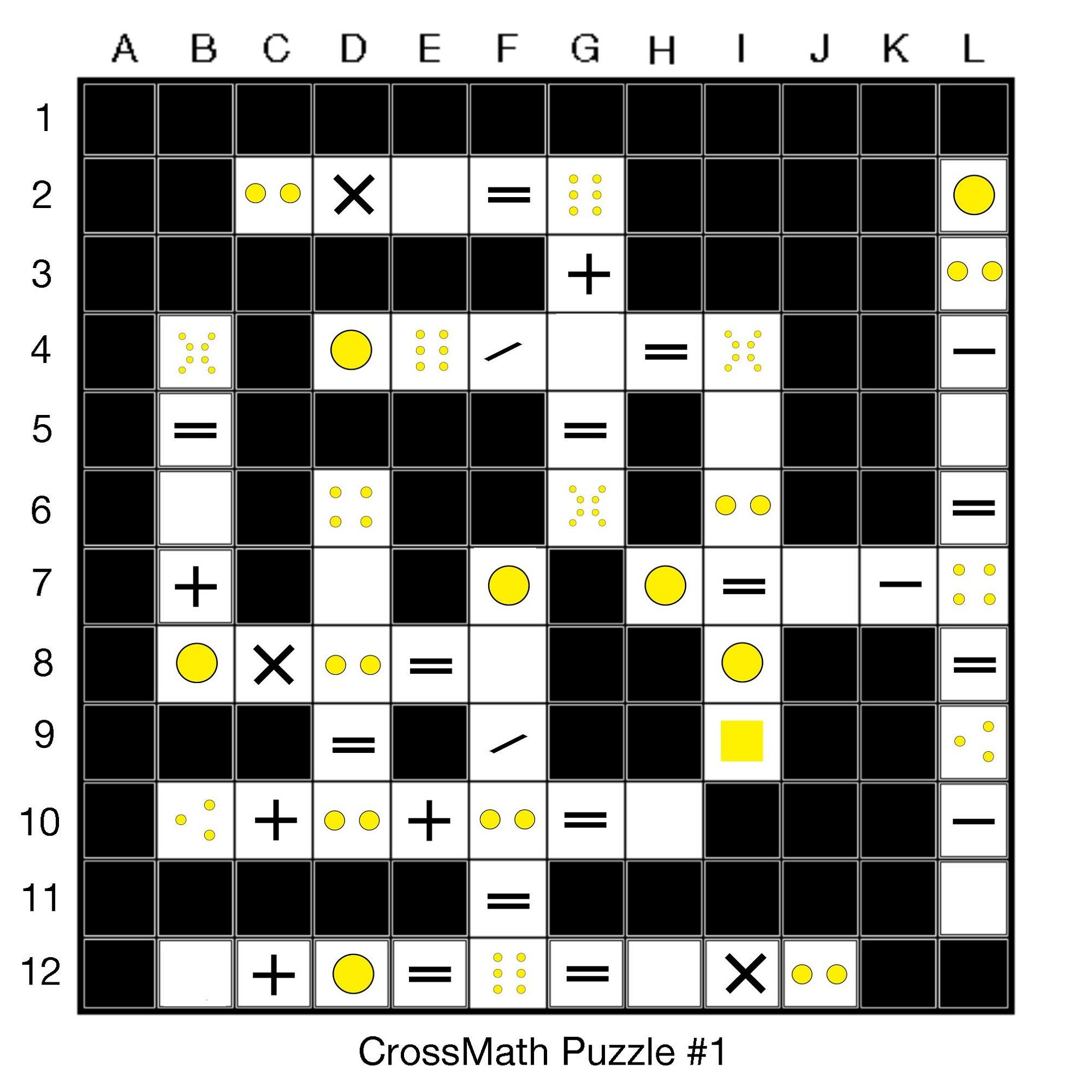 math puzzles printable interesting