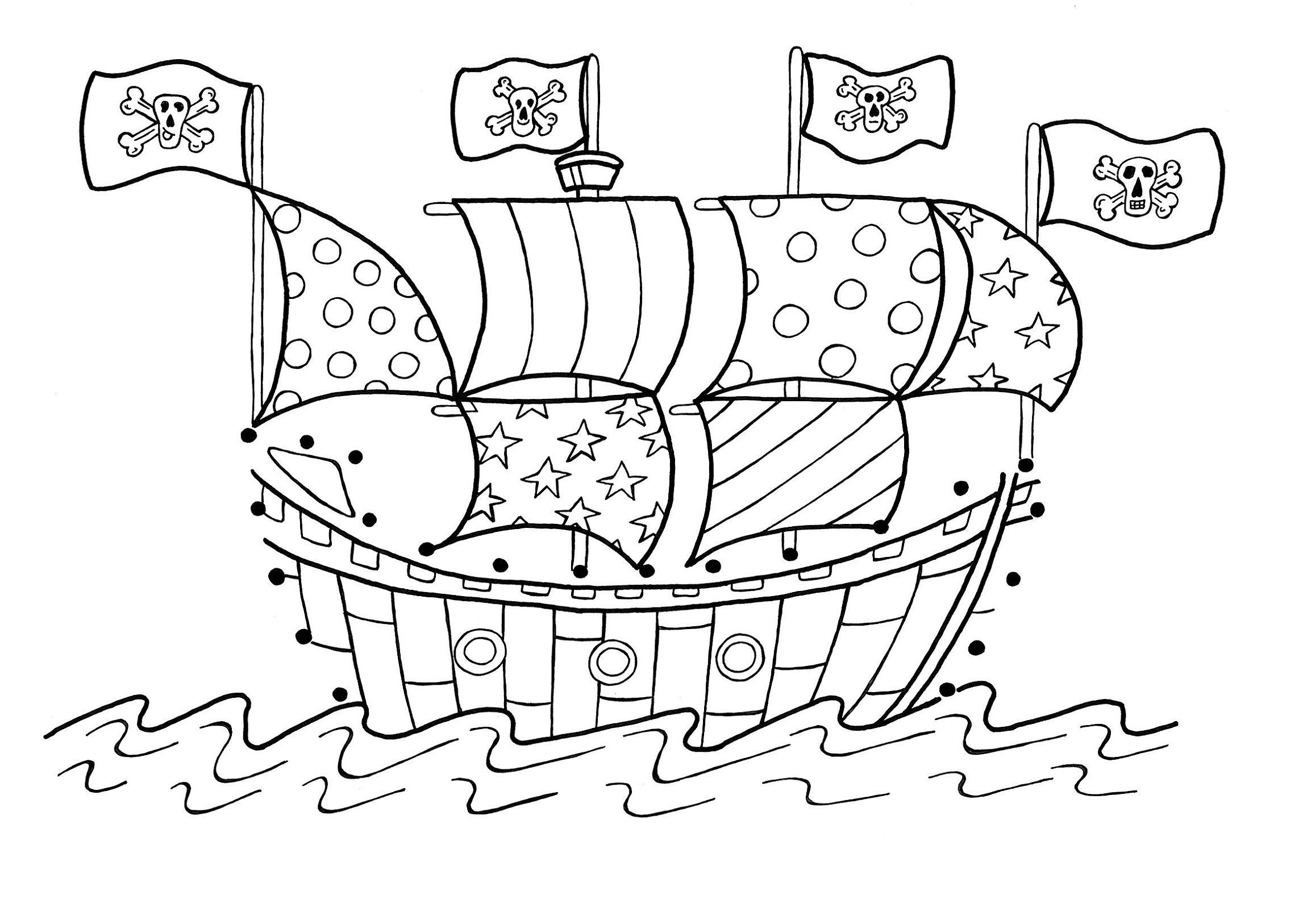 pirate ship pictures for kids 2016