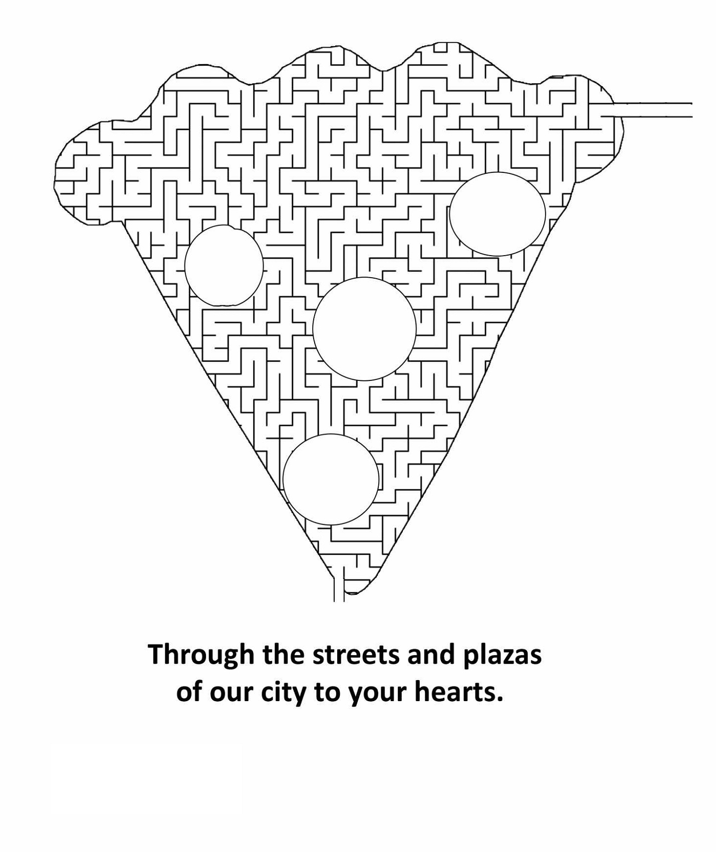 pizza maze for kids 2016