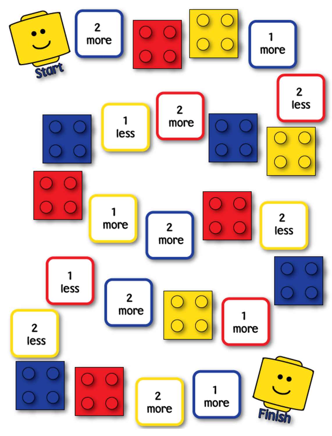 Printable Math Games for Kids | Activity Shelter