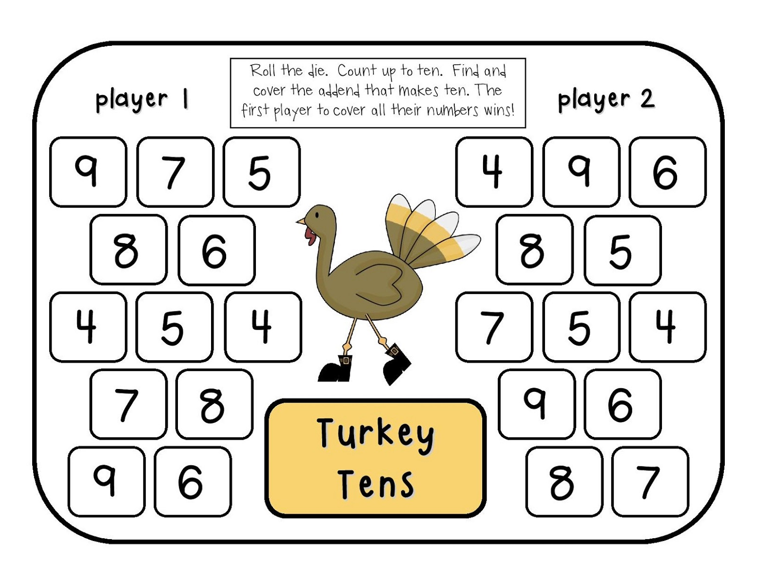 picture relating to Free Printable Maths Games named Printable Math Online games for Little ones Match Shelter
