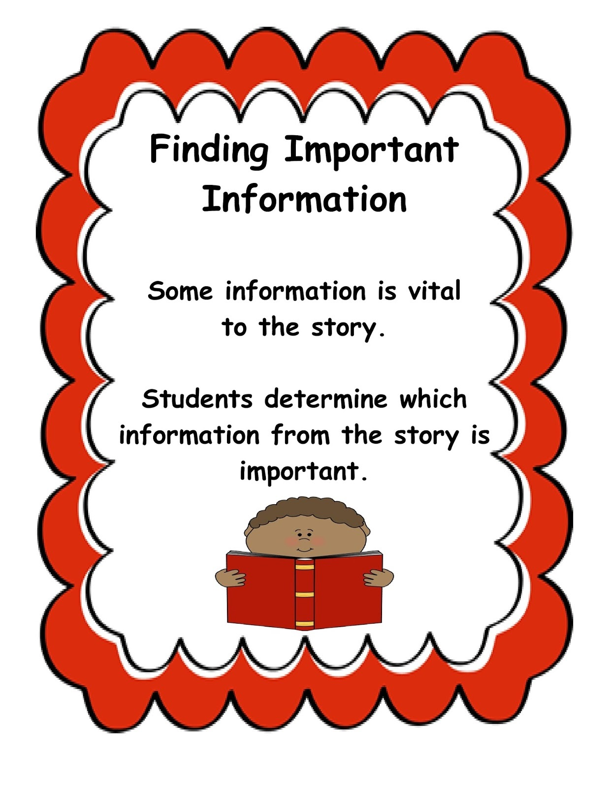 reading strategies for kids information