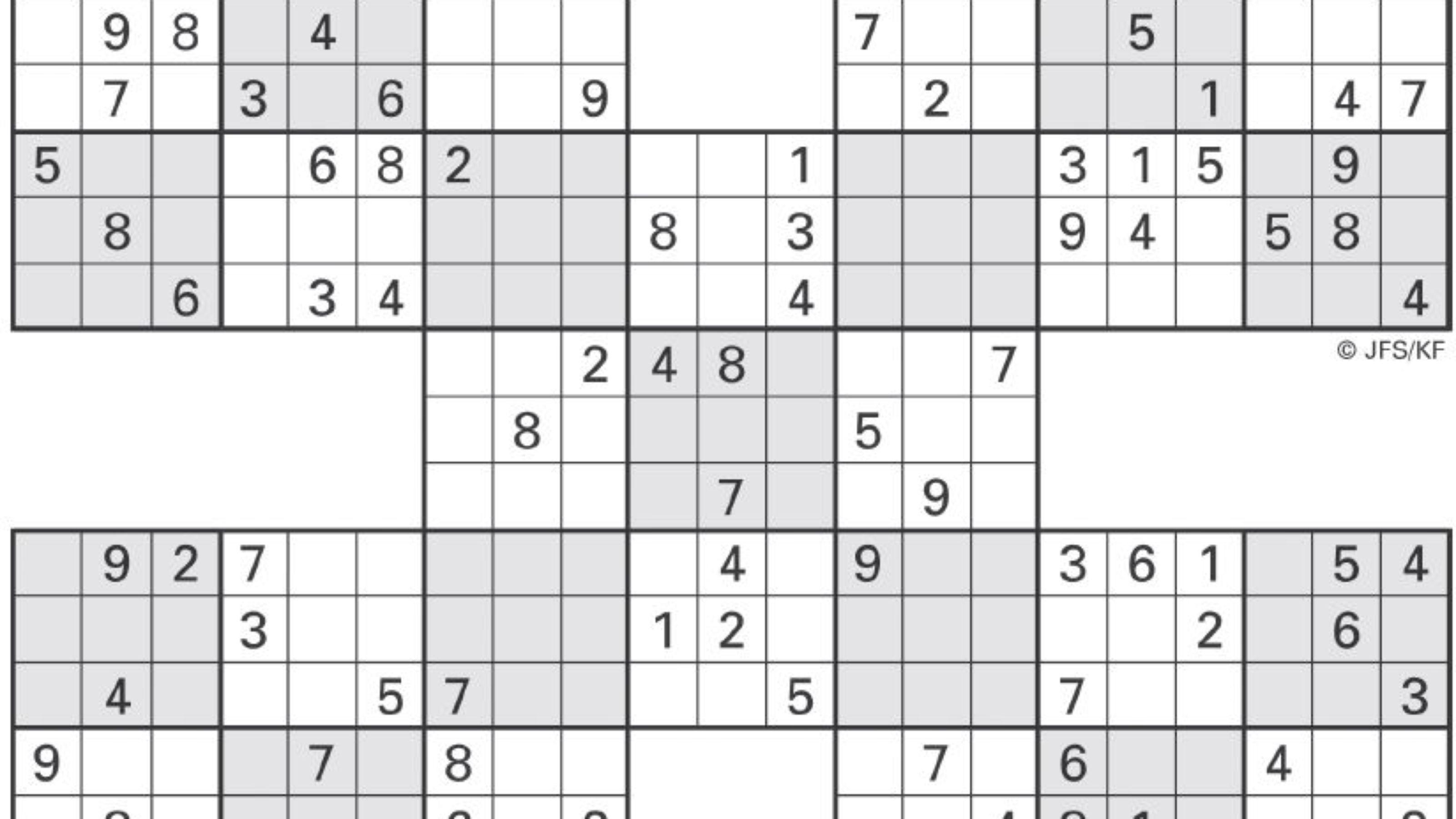 sudoku high fives high