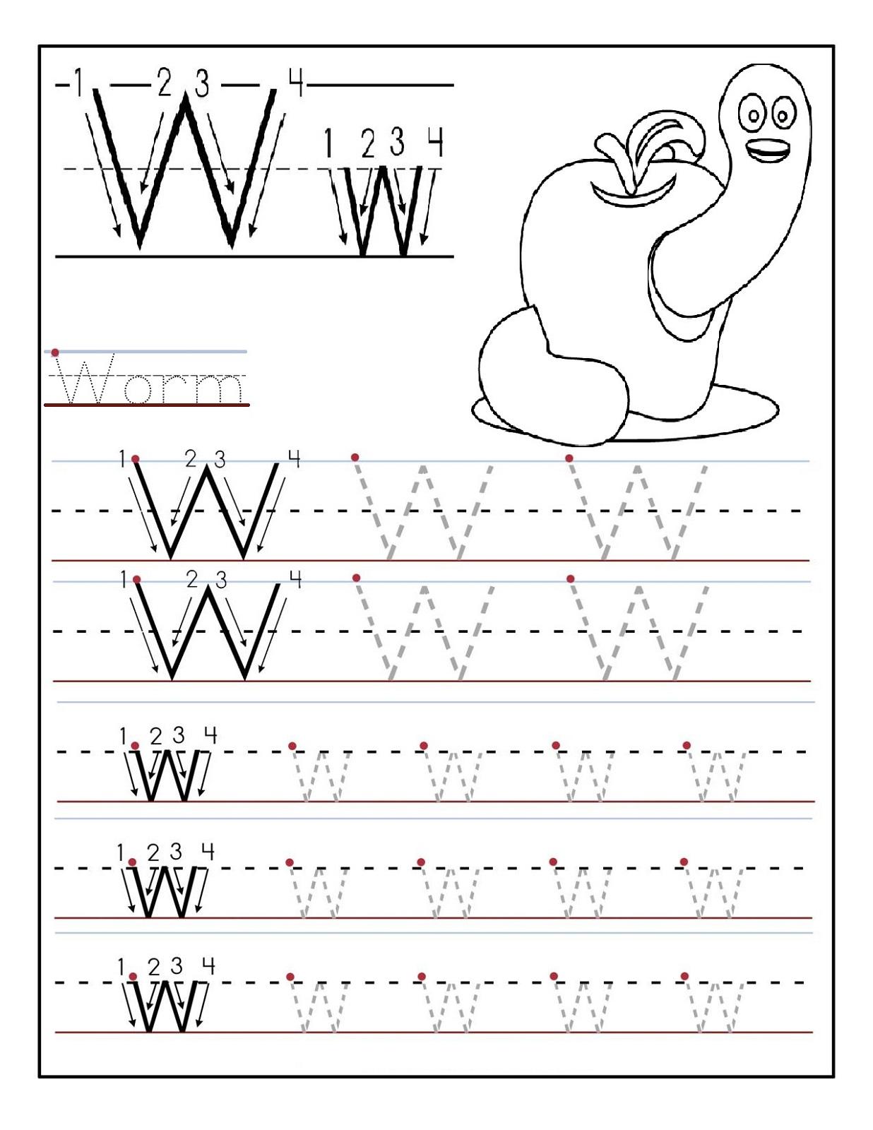 Traceable Alphabets for Children | Activity Shelter