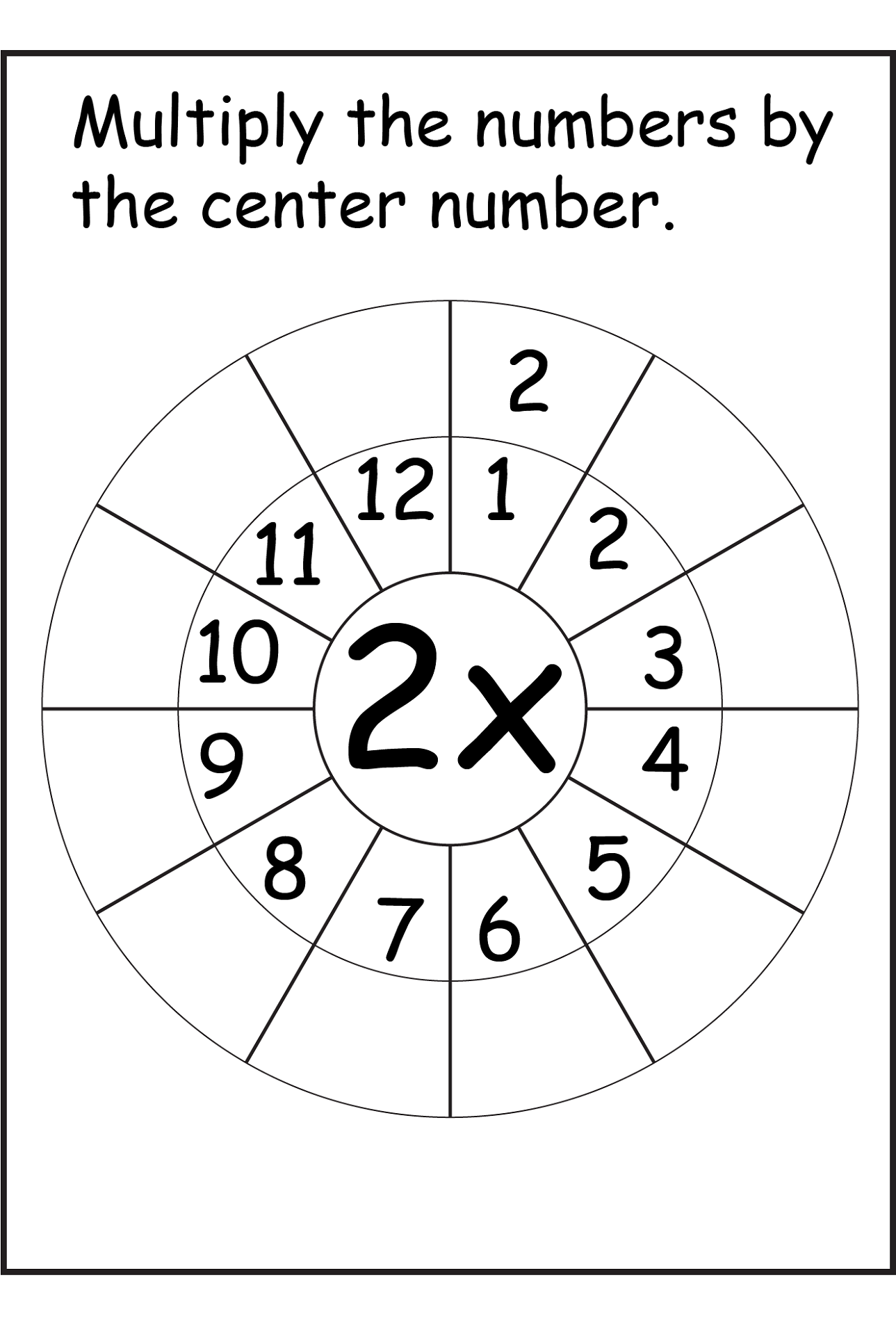 Printable 2 Times Table Worksheets | Activity Shelter