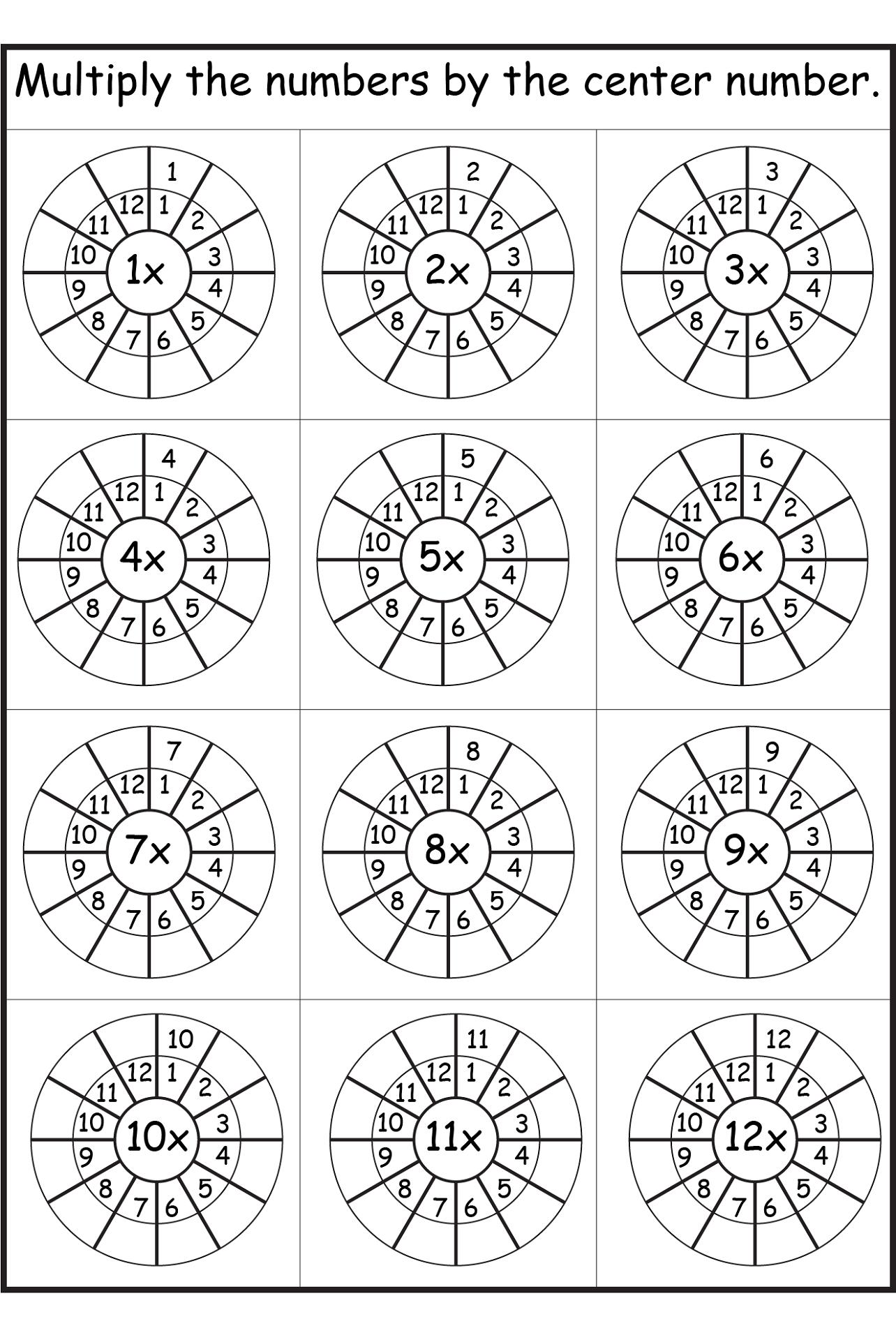 8 times table worksheet interesting