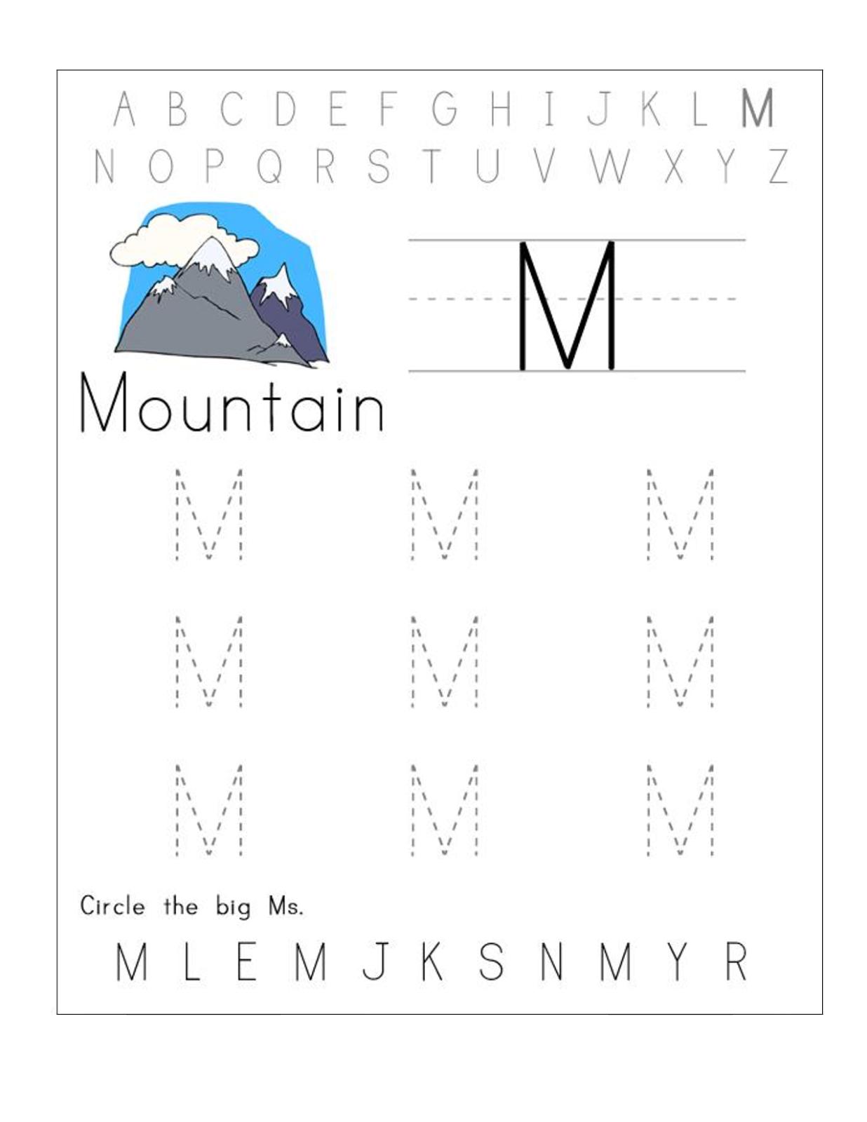 Letter S Printable Worksheets Preschool