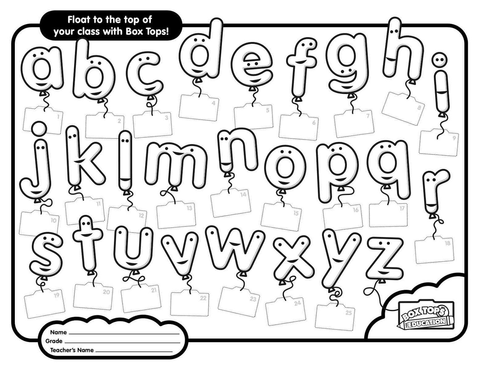 Printable ABC Worksheets Free