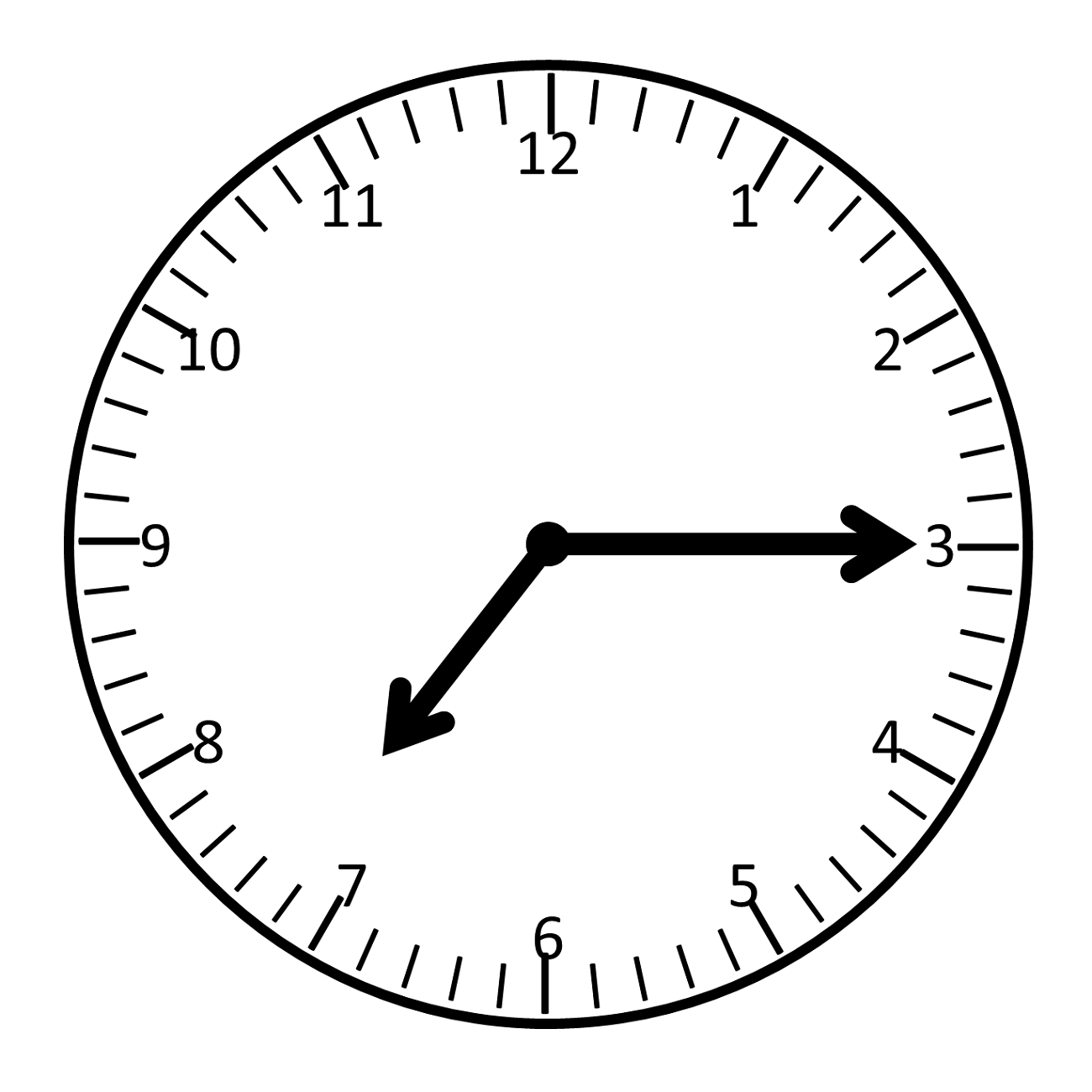 clock face template design