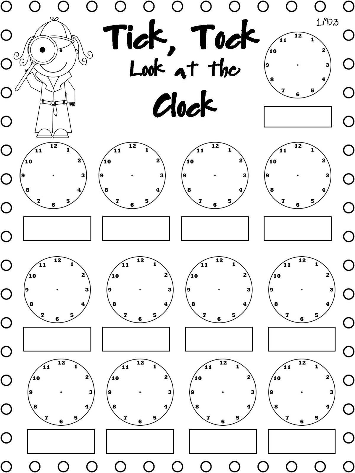 Easy Elapsed Time Worksheets | Activity Shelter