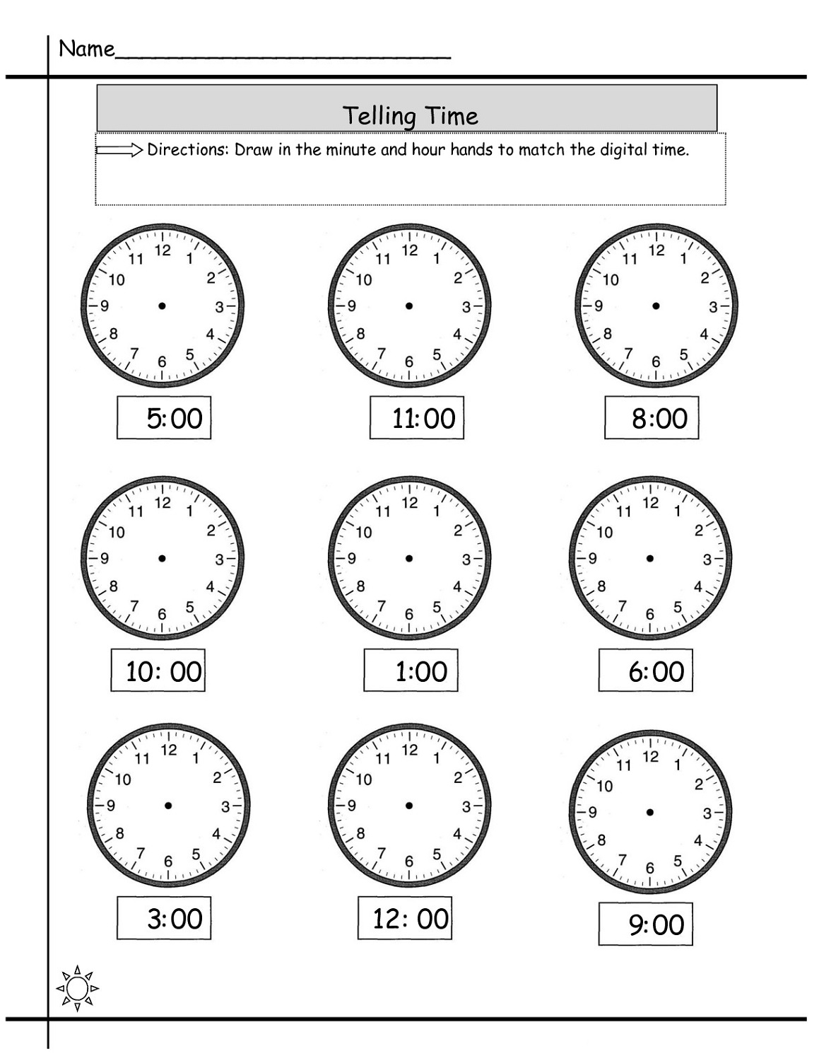 easy elapsed time worksheet exercise