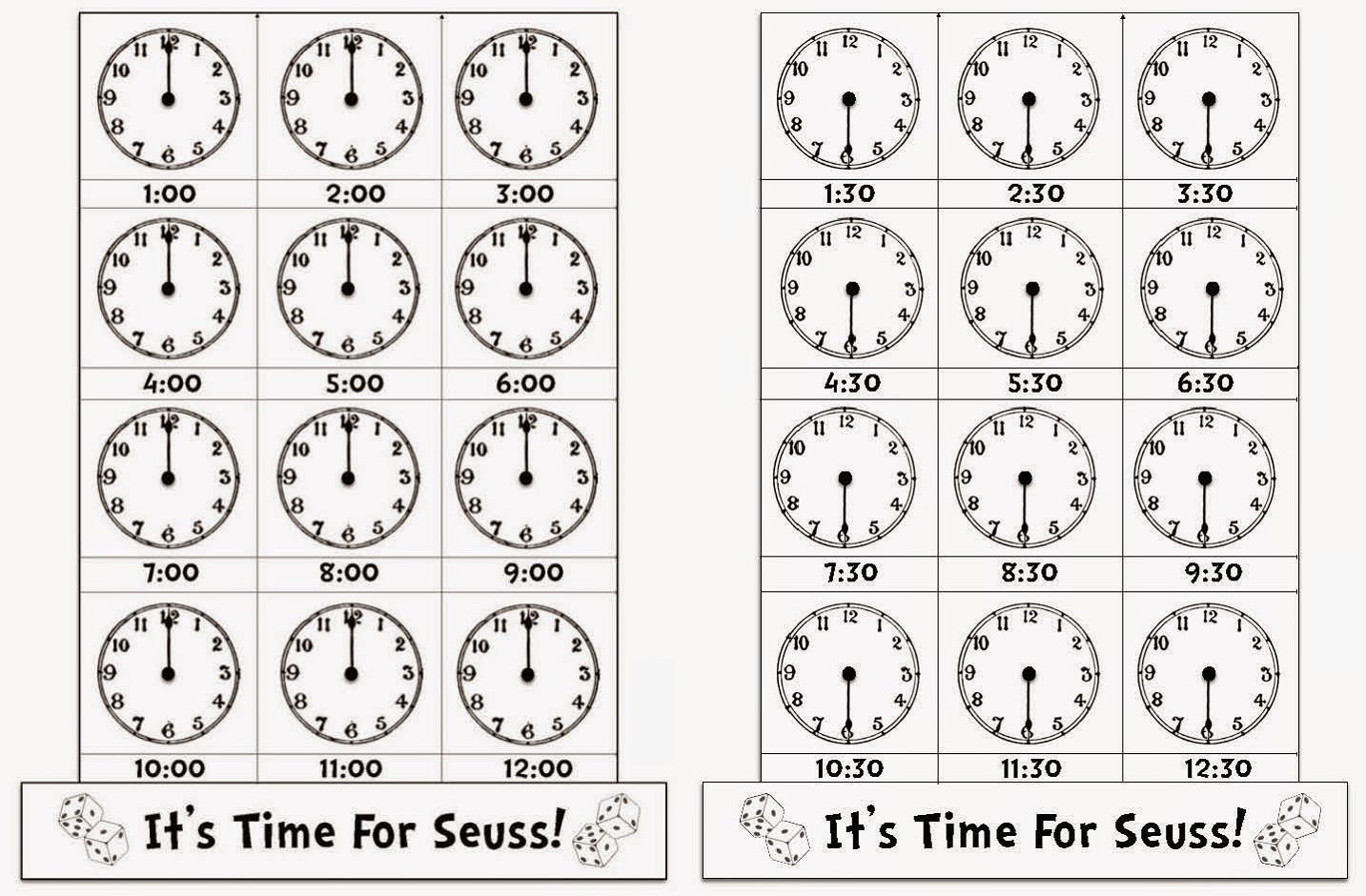 easy elapsed time worksheet to learn