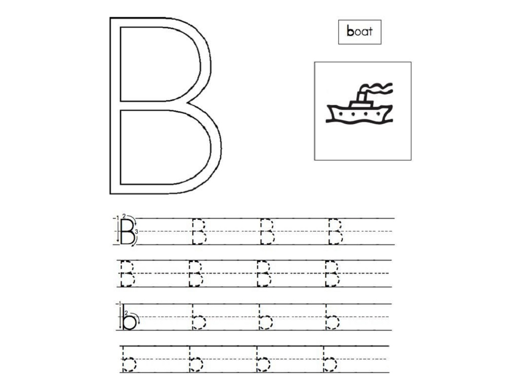 free abc worksheets for pre-k for tracing
