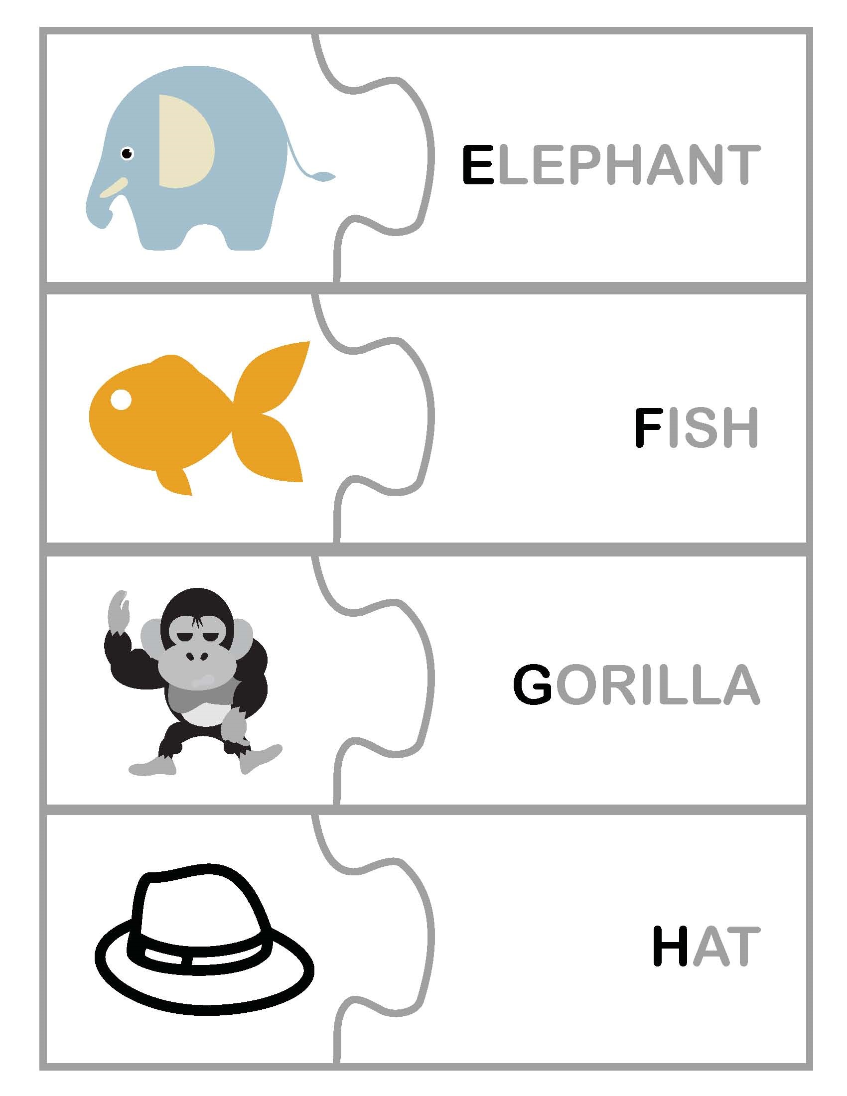 free abc worksheets for pre-k with pictures
