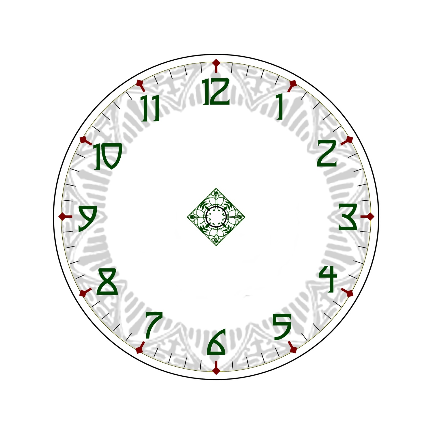 photo relating to Free Printable Clock Faces identified as Free of charge Clock Faces Printable Recreation Shelter