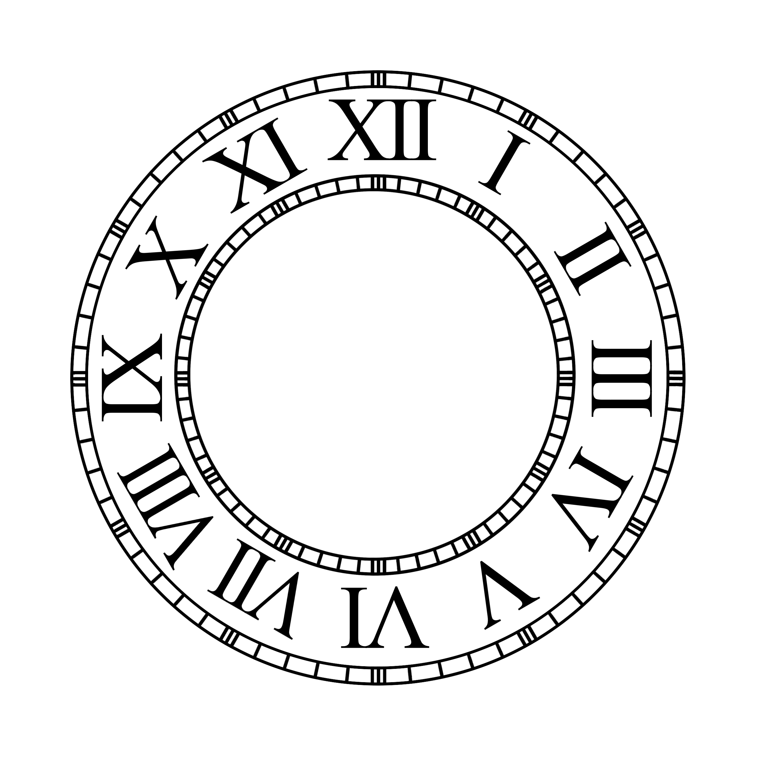 free clock faces simple