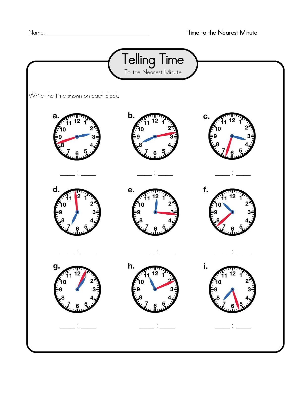 free elapsed time worksheet for school