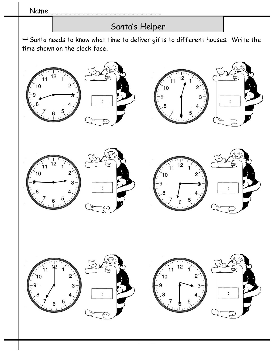 Free Elapsed Time Worksheets : Activity Shelter