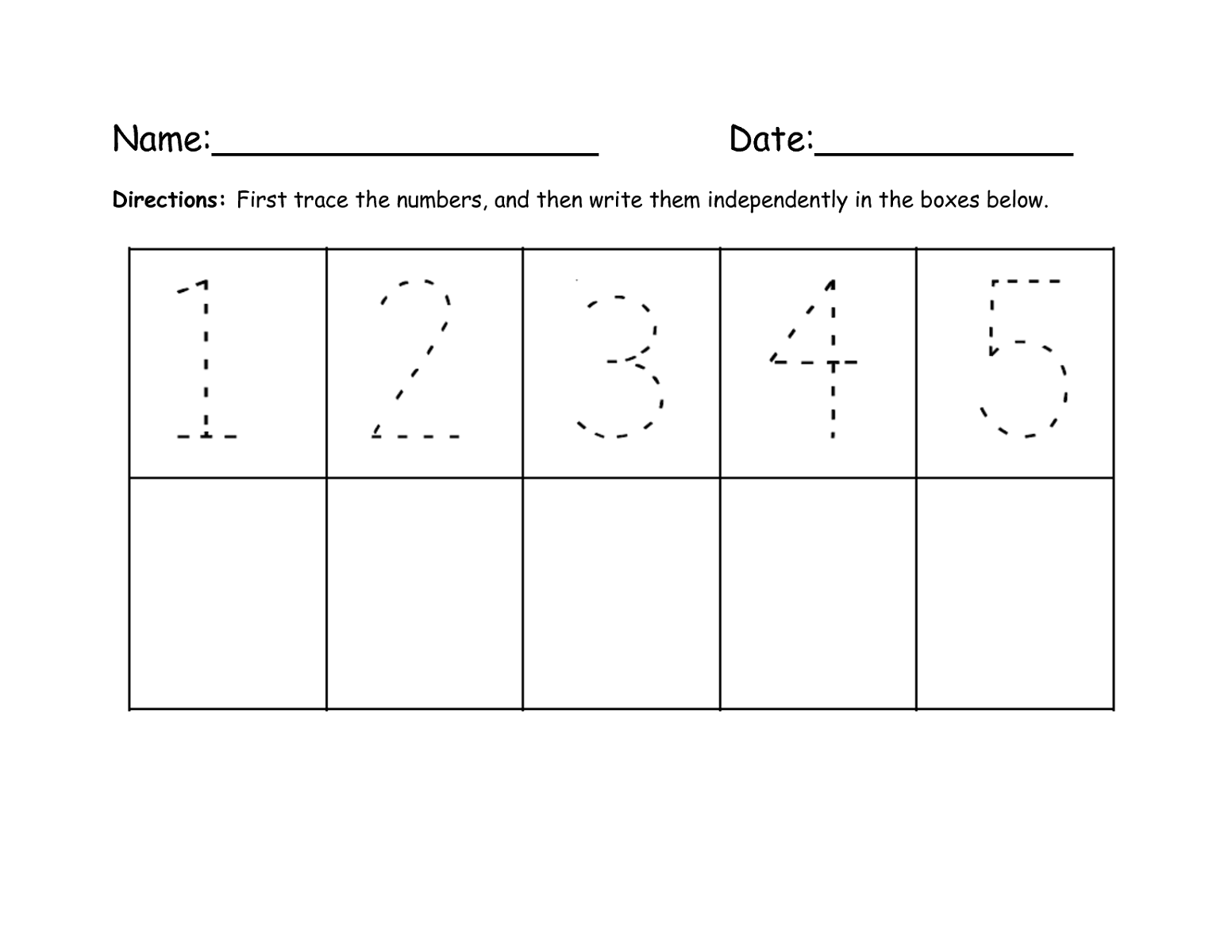 Tracing Numbers 1 20 Worksheets Kindergarten Worksheet – Numbers 1-20 Worksheets for Kindergarten