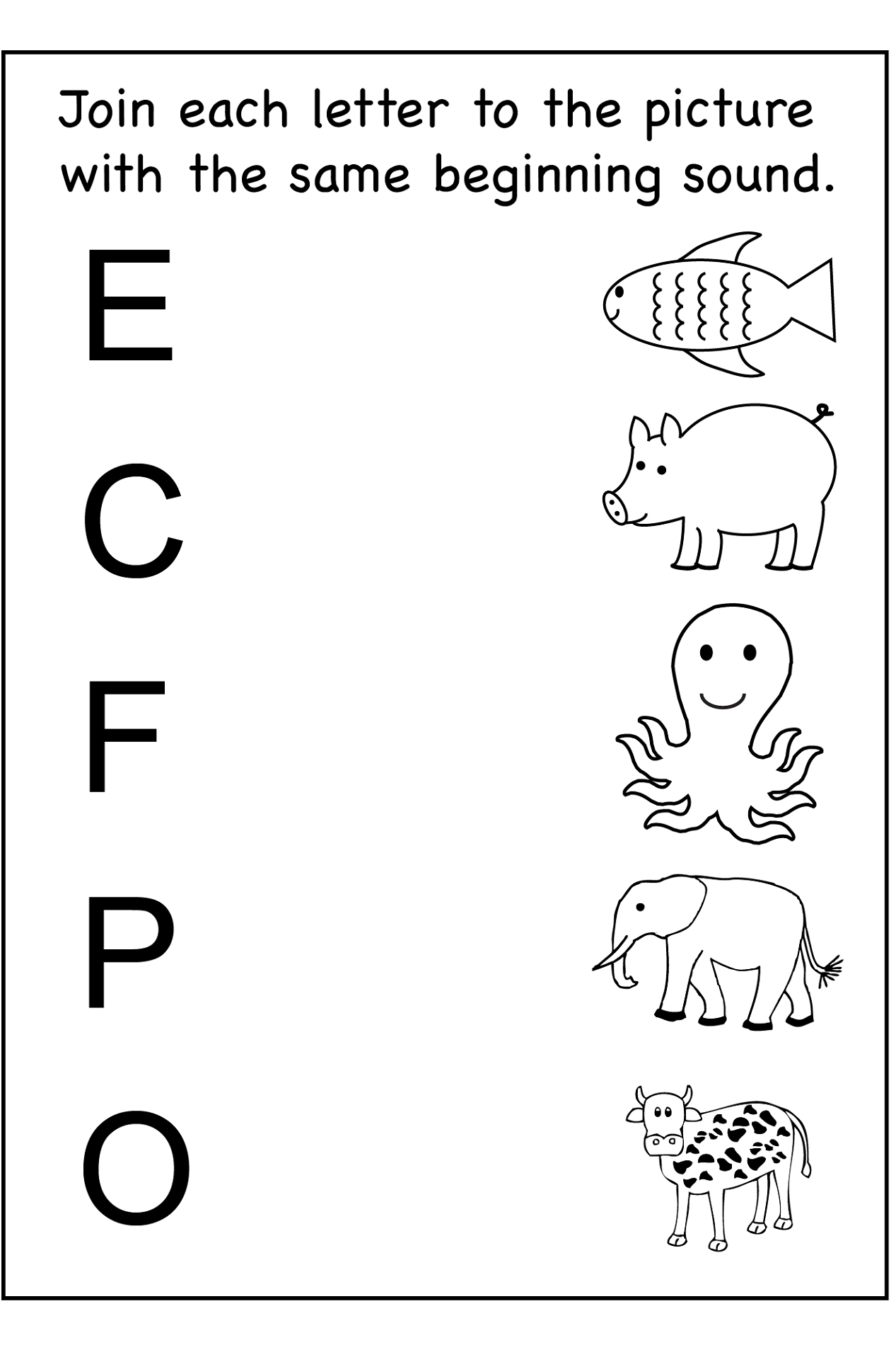 Worksheets For Kindergarteners : Printable fun kids worksheets activity shelter