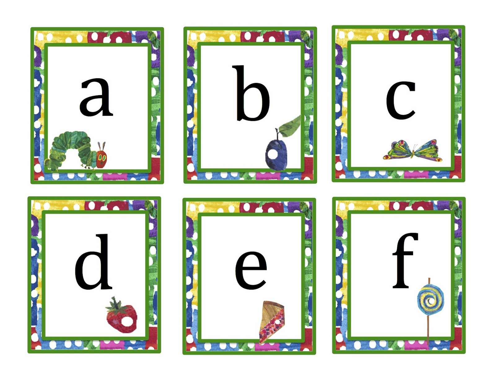 lower case alphabet for kindergarten