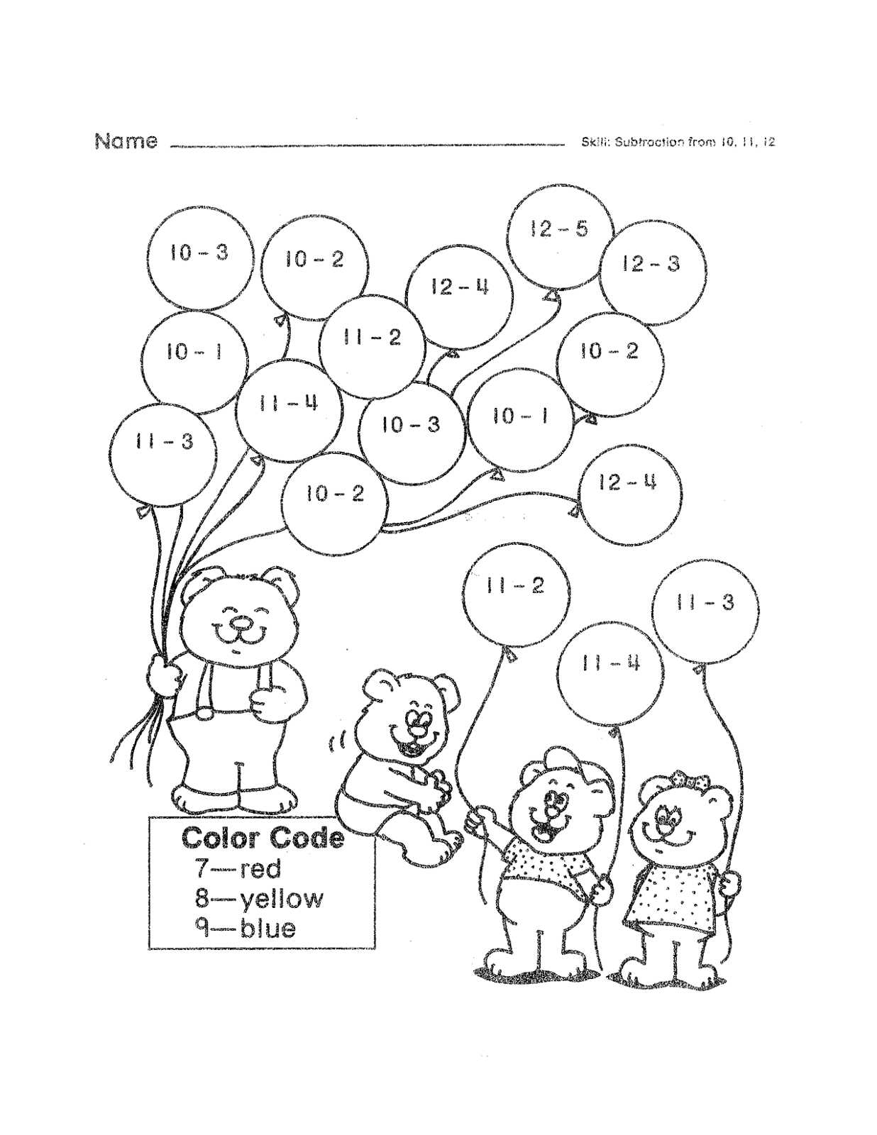 math fun sheet for kids