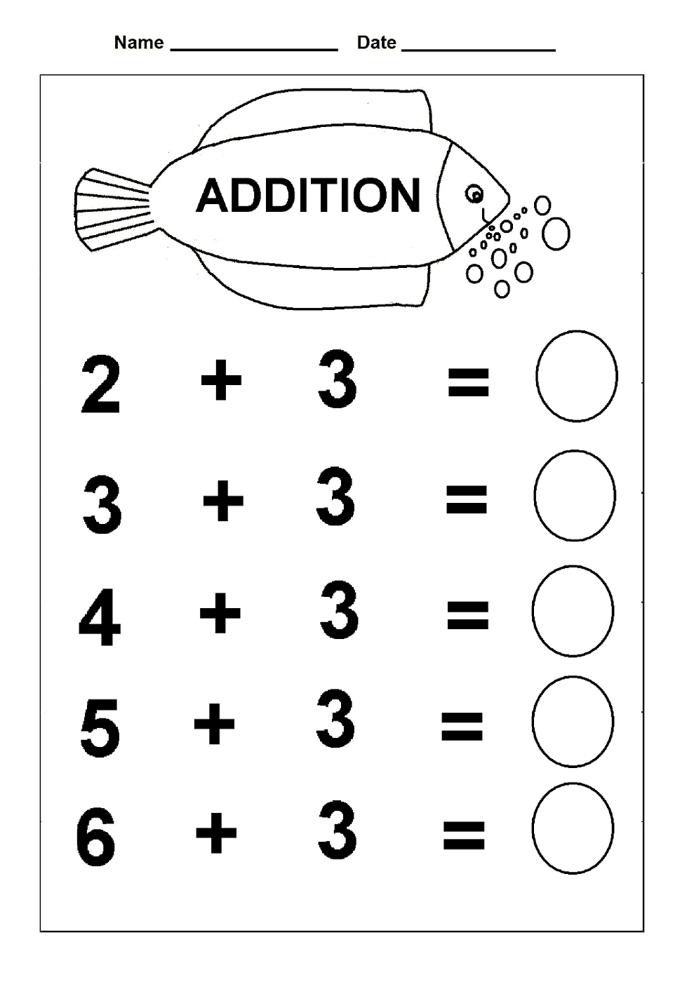 math fun worksheet addition - Kids Activity Worksheet