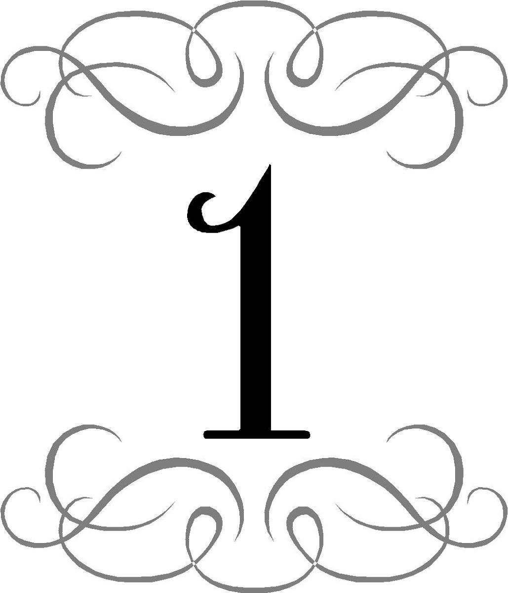 number 1 picture design