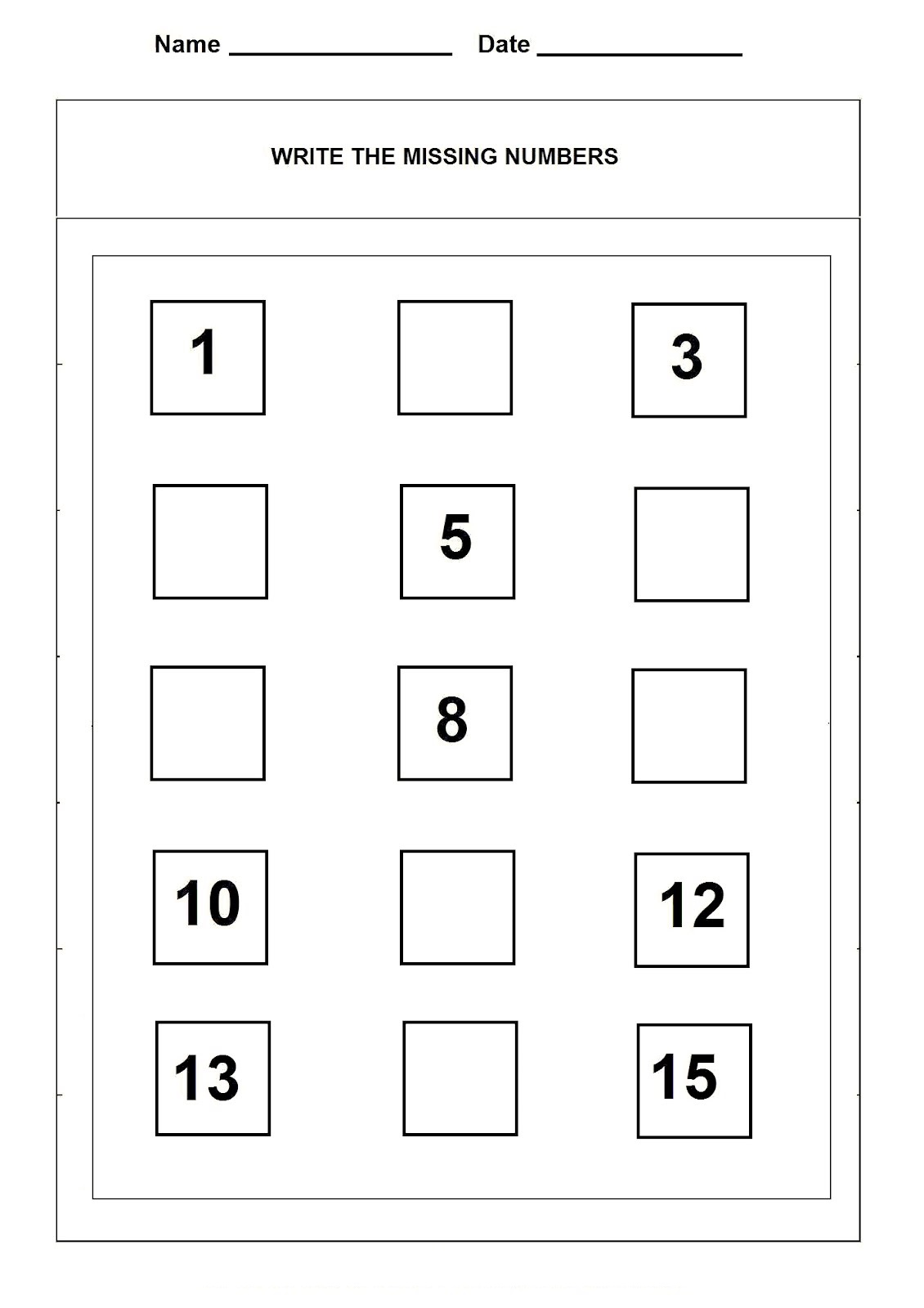 Number 15 Worksheets Printable – Number 15 Worksheet