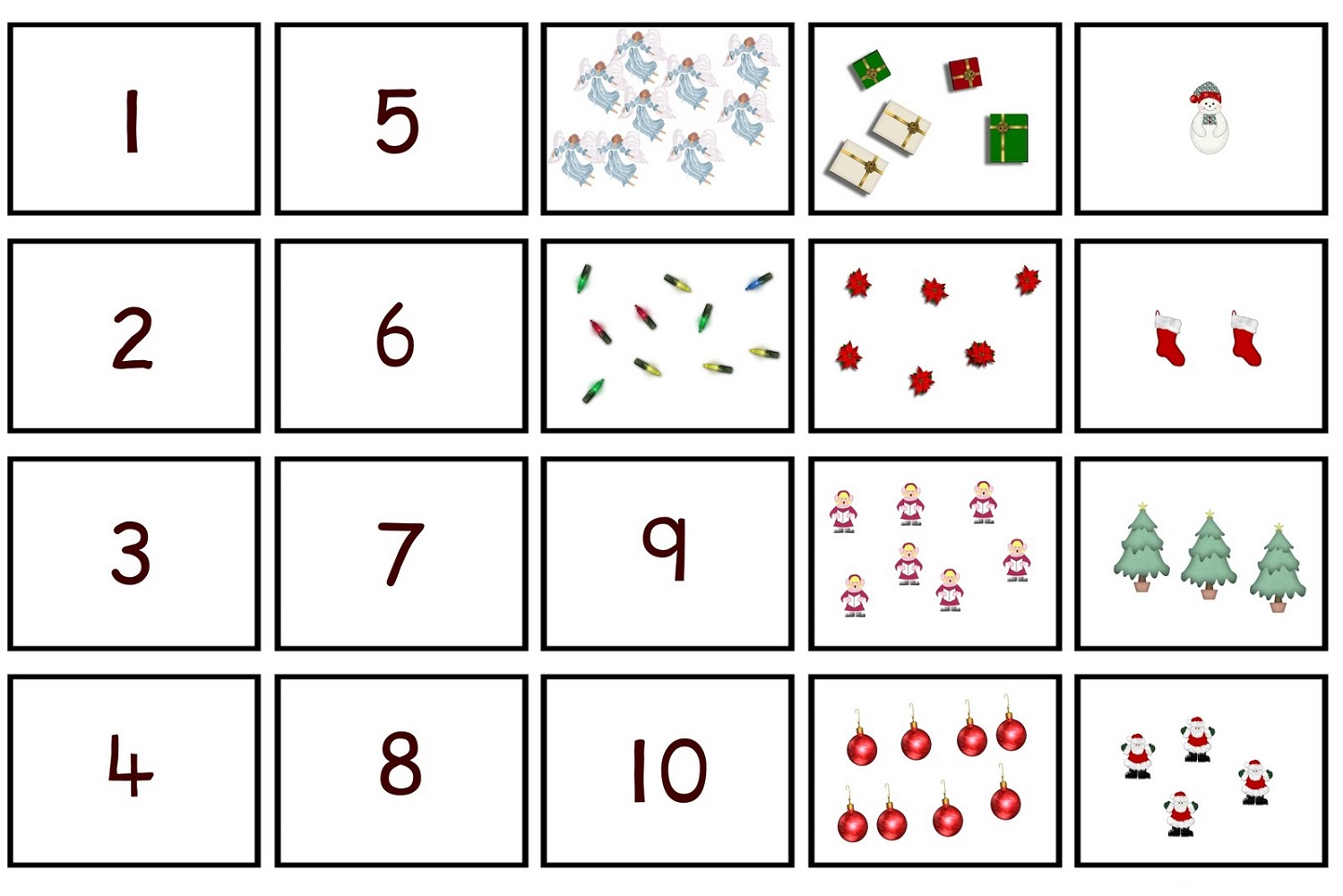 number 15 worksheet with pictures