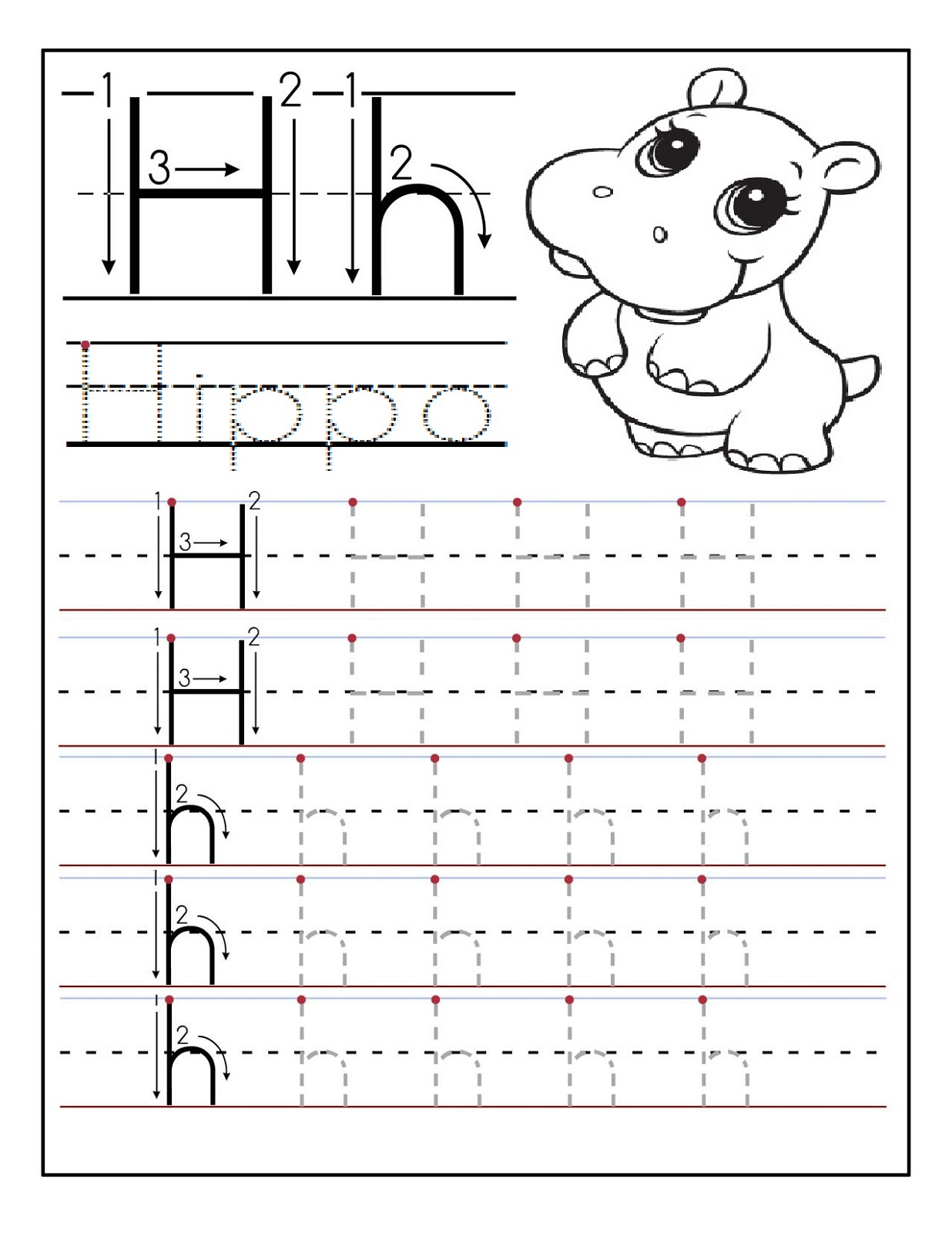 Preschool Alphabet Worksheets | Activity Shelter
