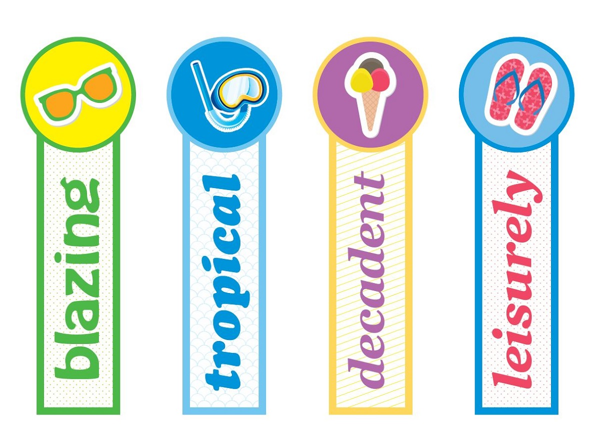 printable bookmarks for kids colorful