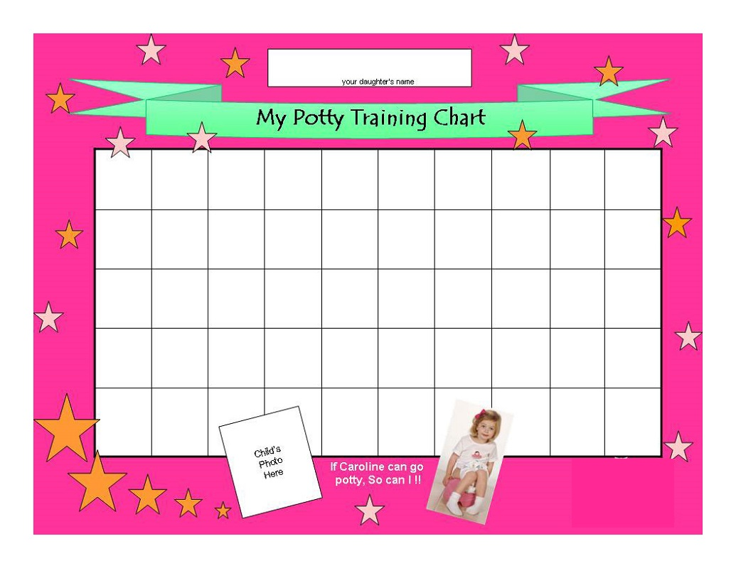 reward chart template for toddlers