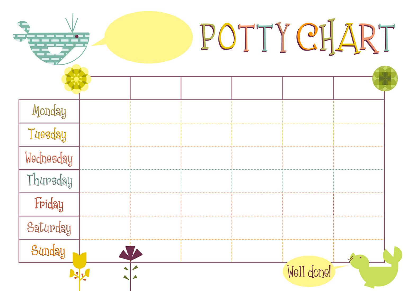 Reward Charts Templates | Activity Shelter