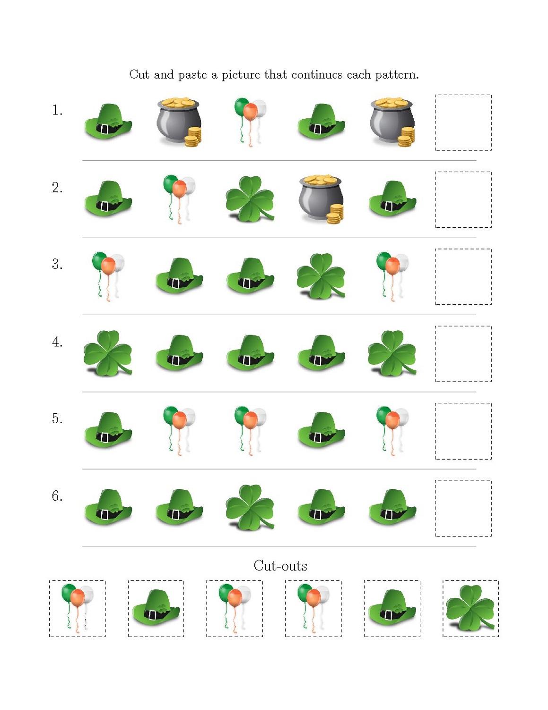 same different worksheets for children