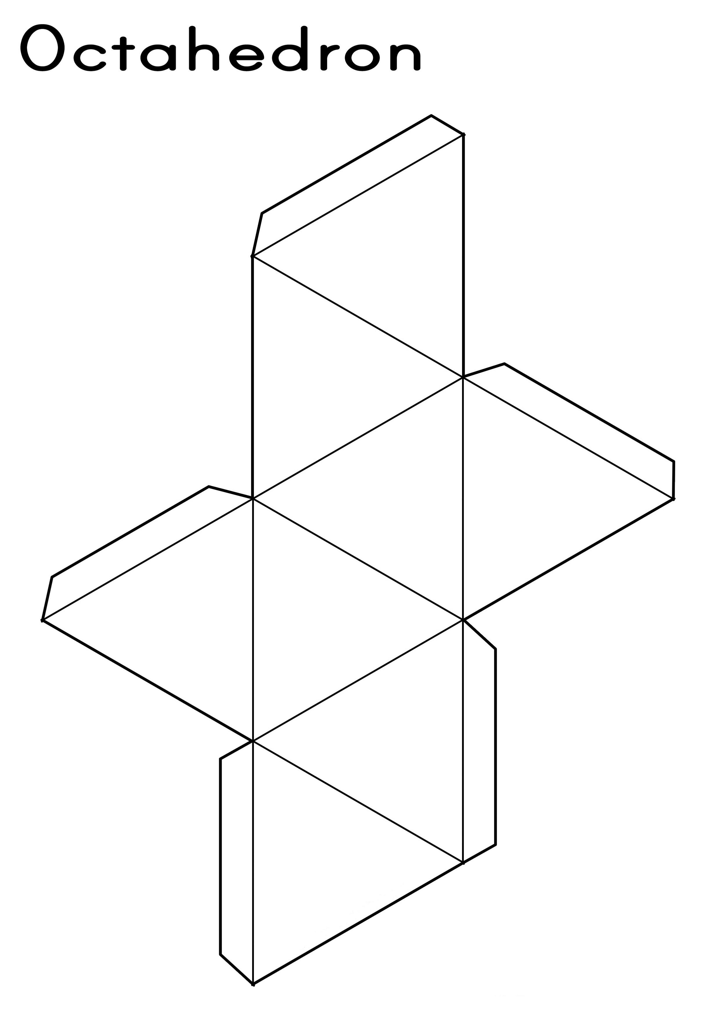 shape nets printable