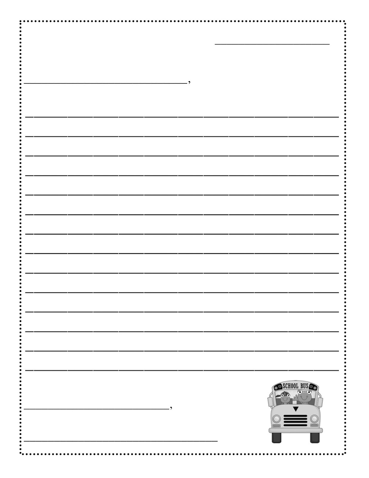templates for kids for school