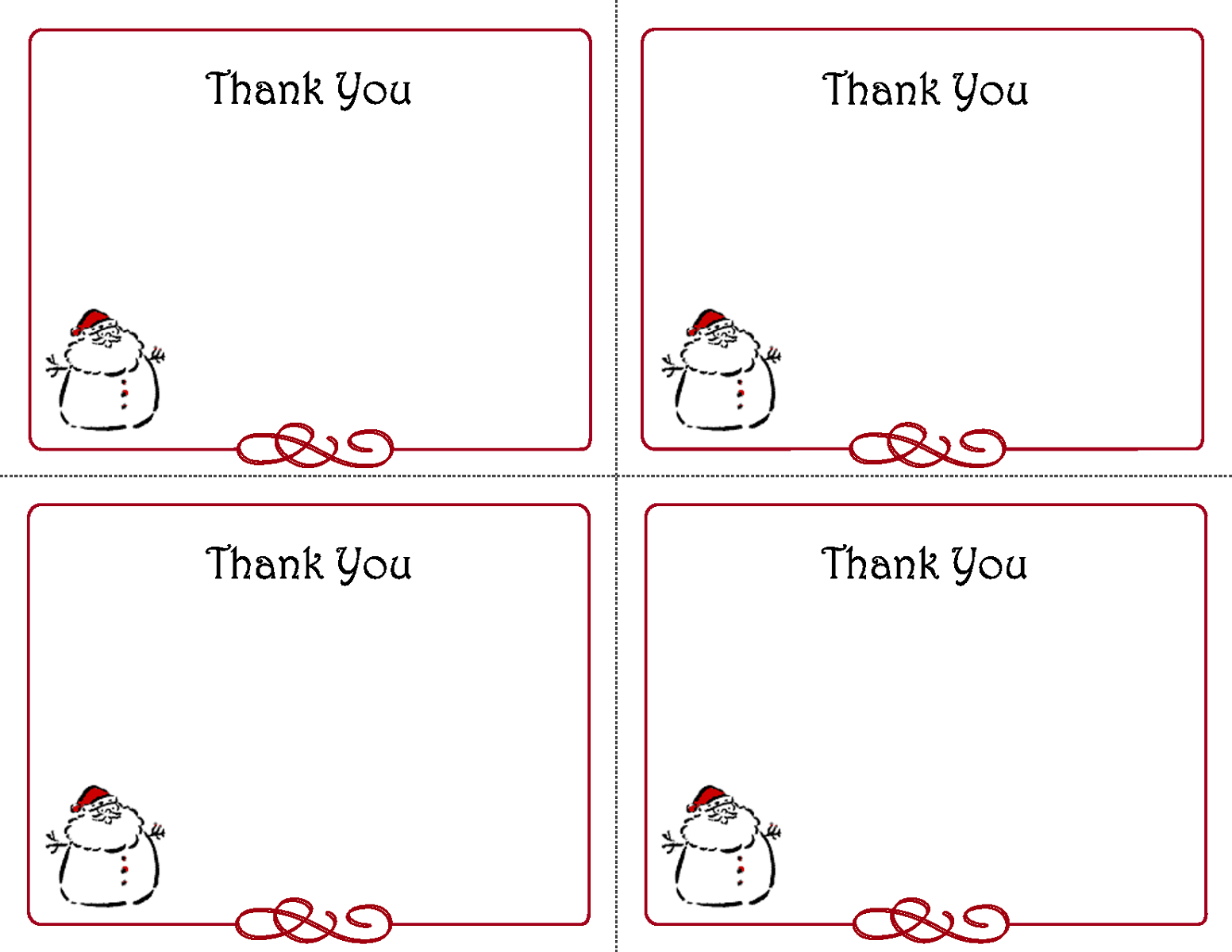 Thank You Notes Template from www.activityshelter.com