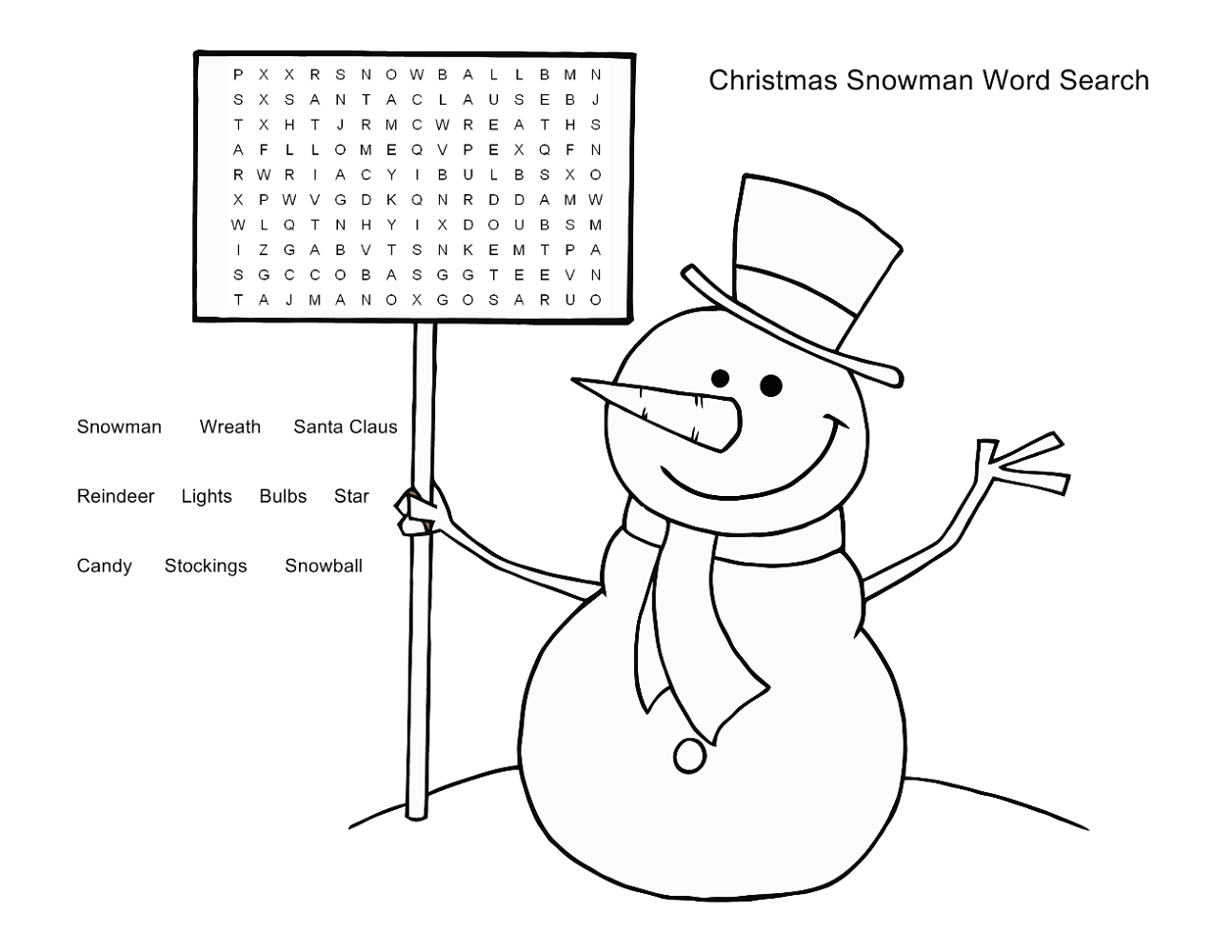 worksheets for 5 year olds word search