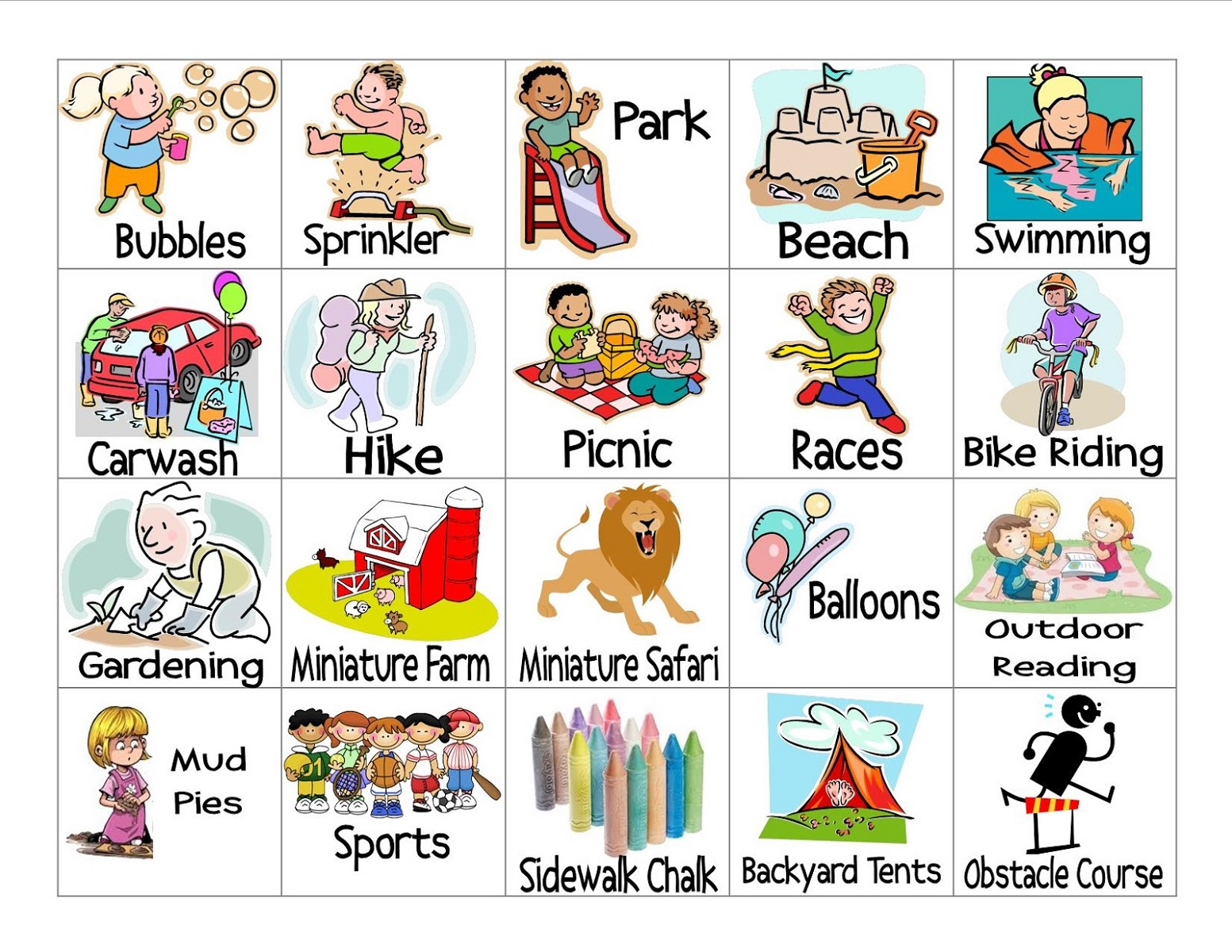 worksheets for fun vocabulary