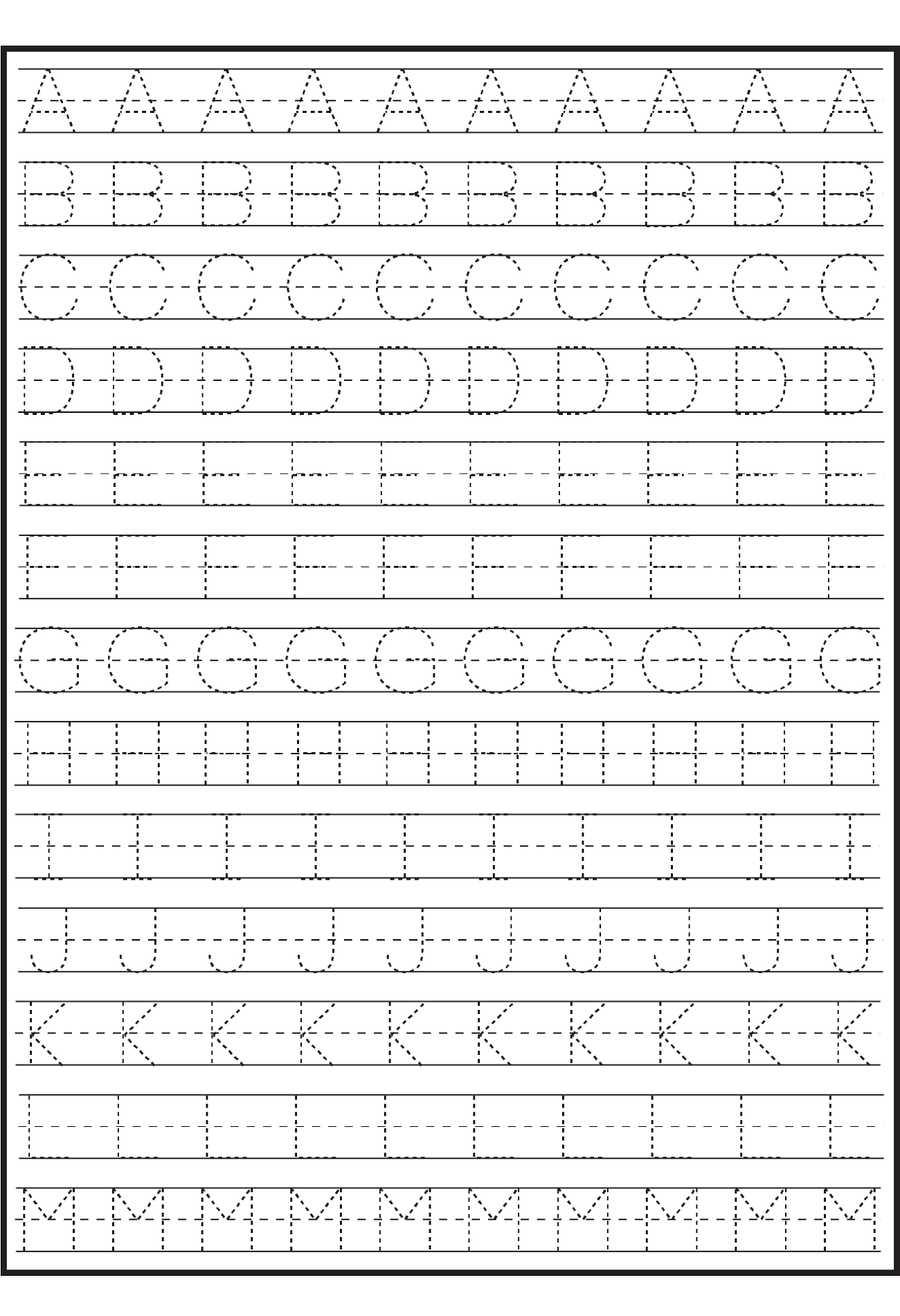 Worksheet. Alphabet Writing Practice. Noconformity Free Worksheet