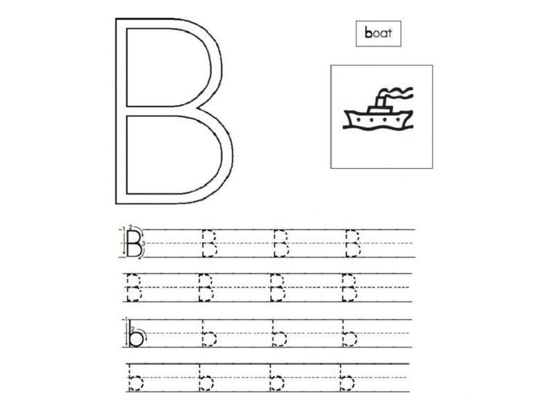 Number Names Worksheets : letter a b c worksheets Letter A at ...