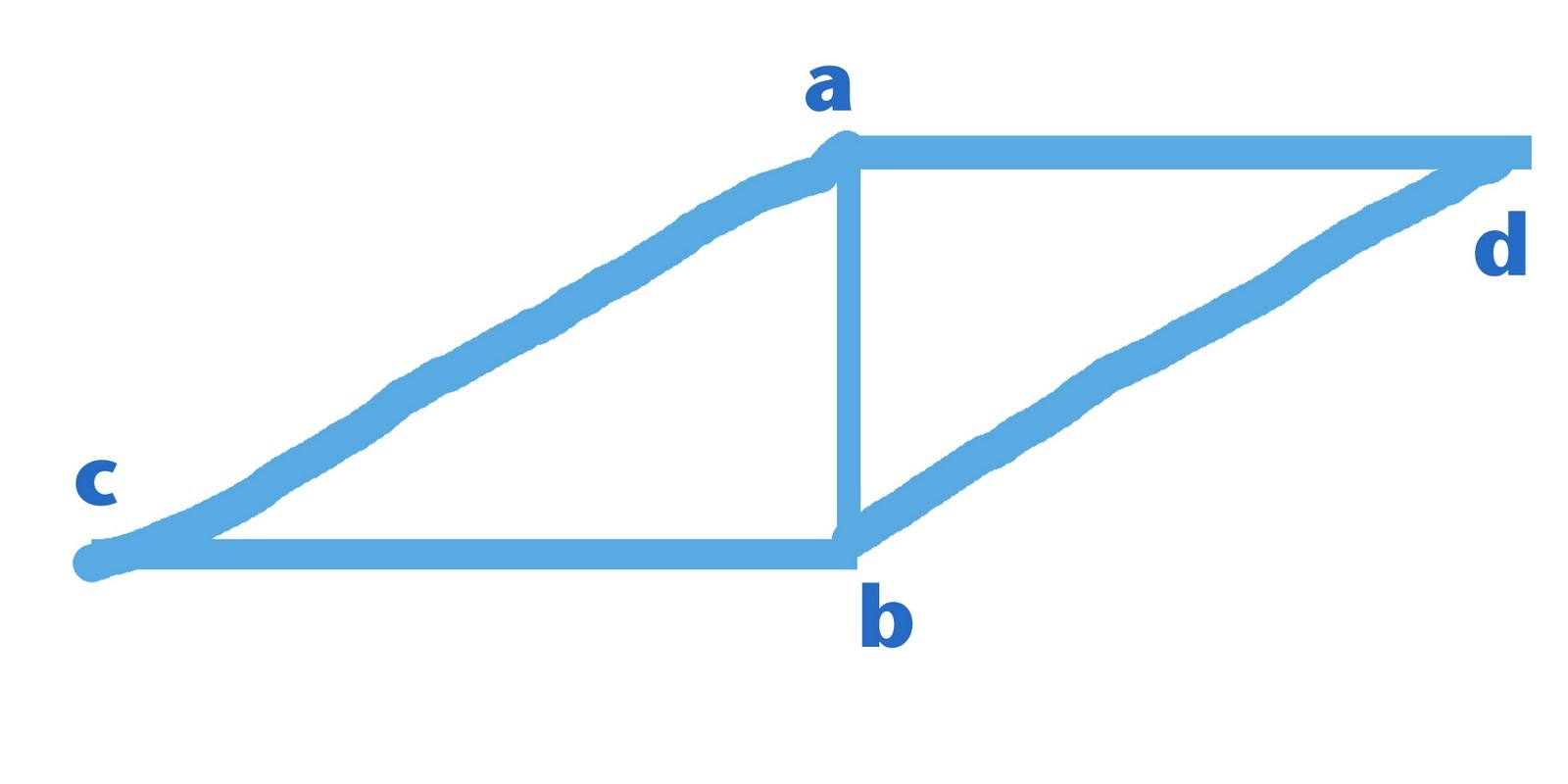 pictures of rhombus shapes blue color