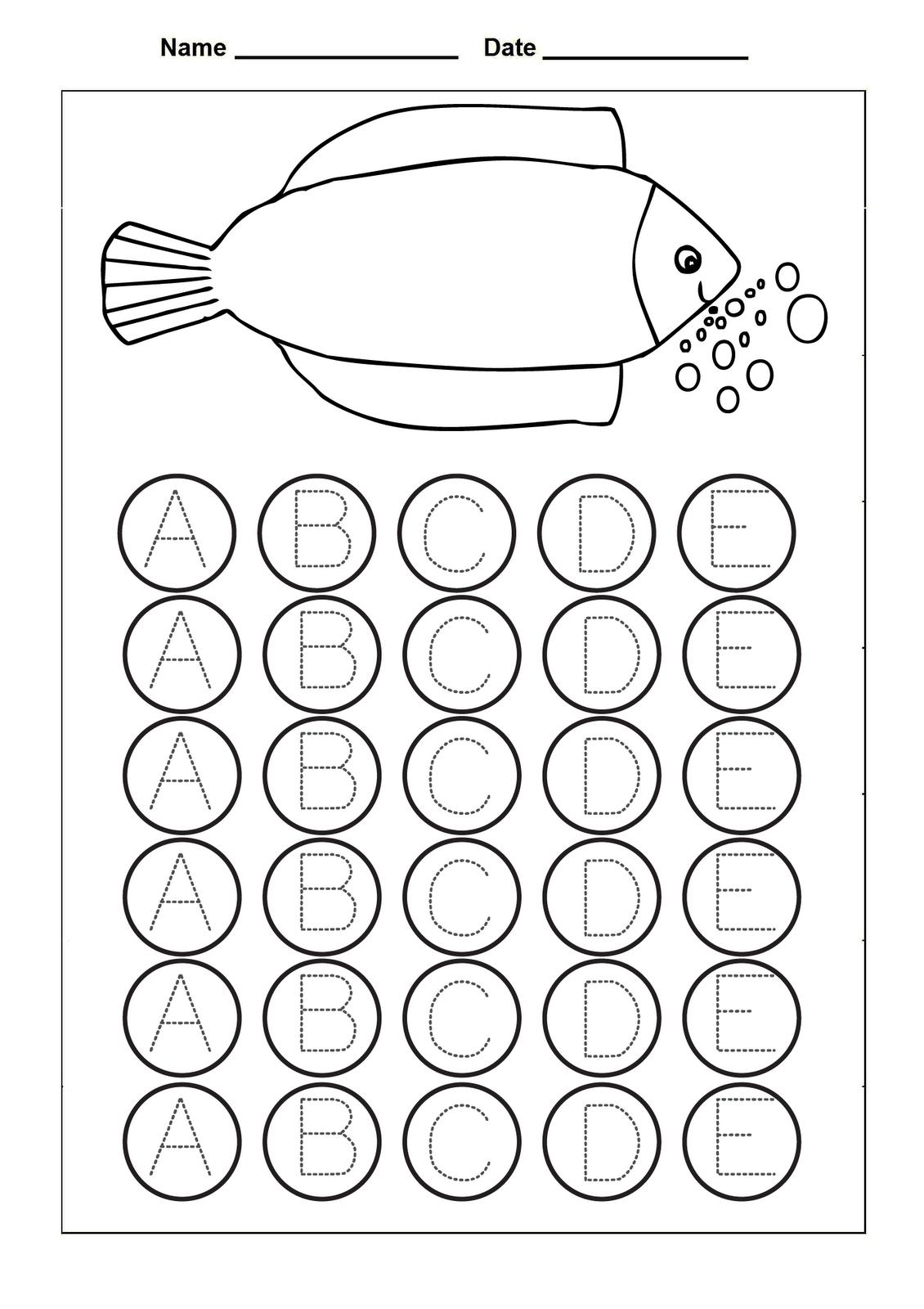 traceable letter a alphabet