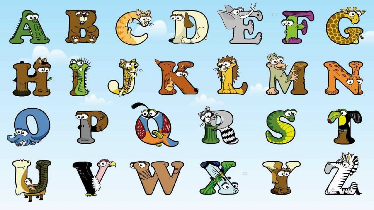 animals-shaped-like-letters-free