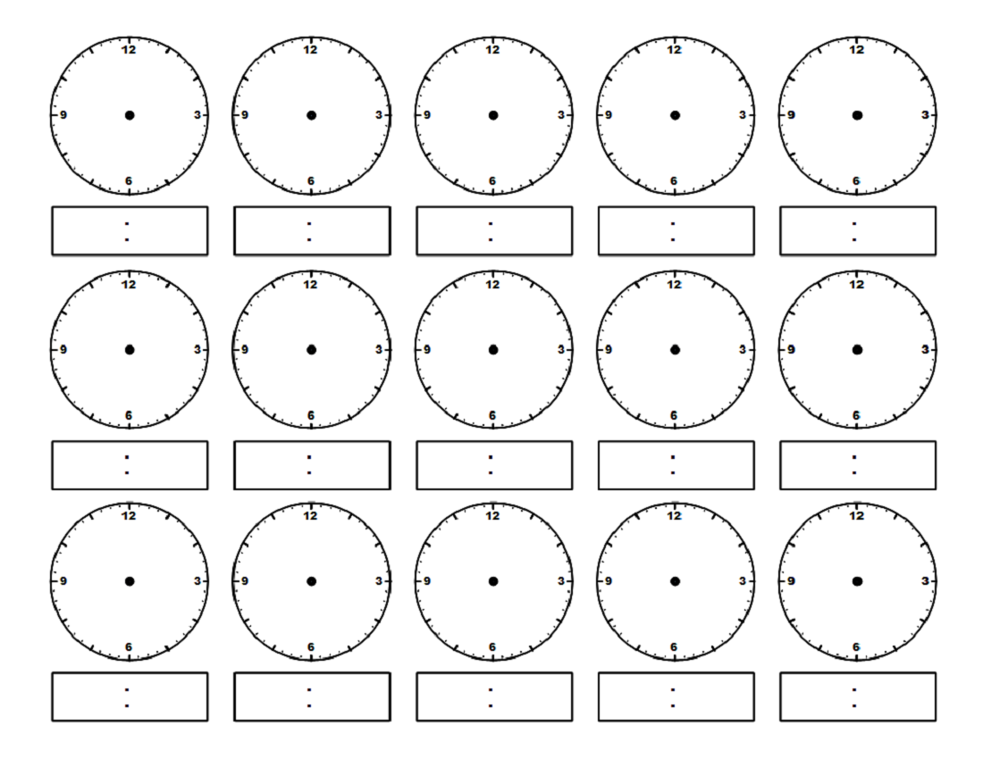 Clock Face Worksheet Free Worksheets Library – Clock Worksheet