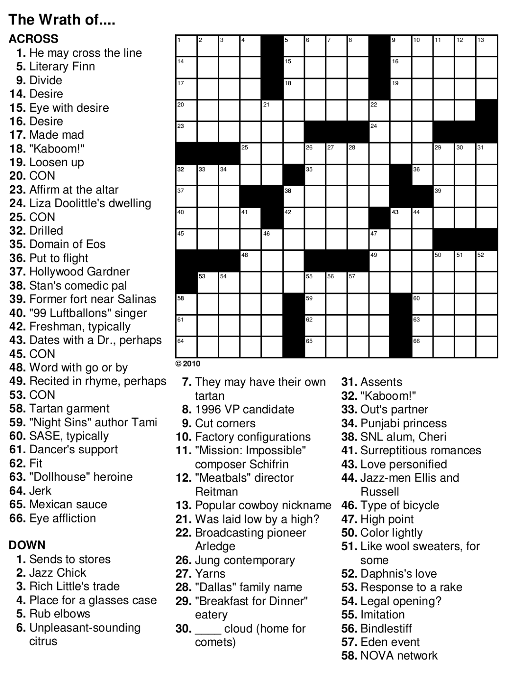 image about Easy Crossword Puzzle Printable named Simple Crossword Puzzles for Seniors Sport Shelter
