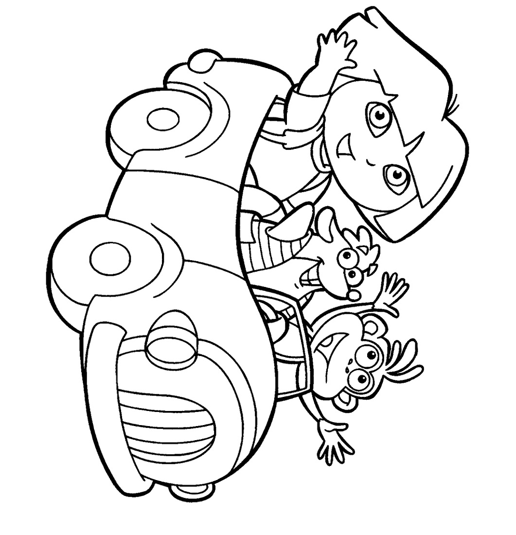 free-activity-pages-for-kids-dora