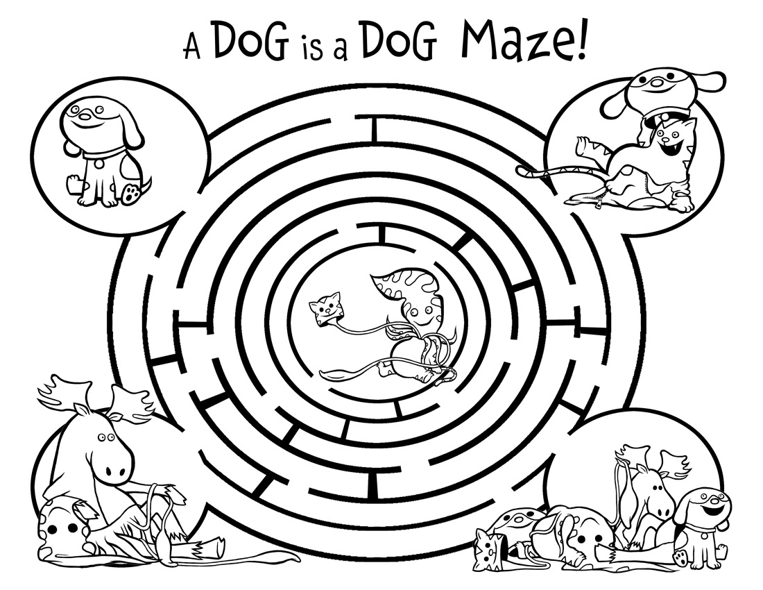 fun-mazes-for-kids-dog
